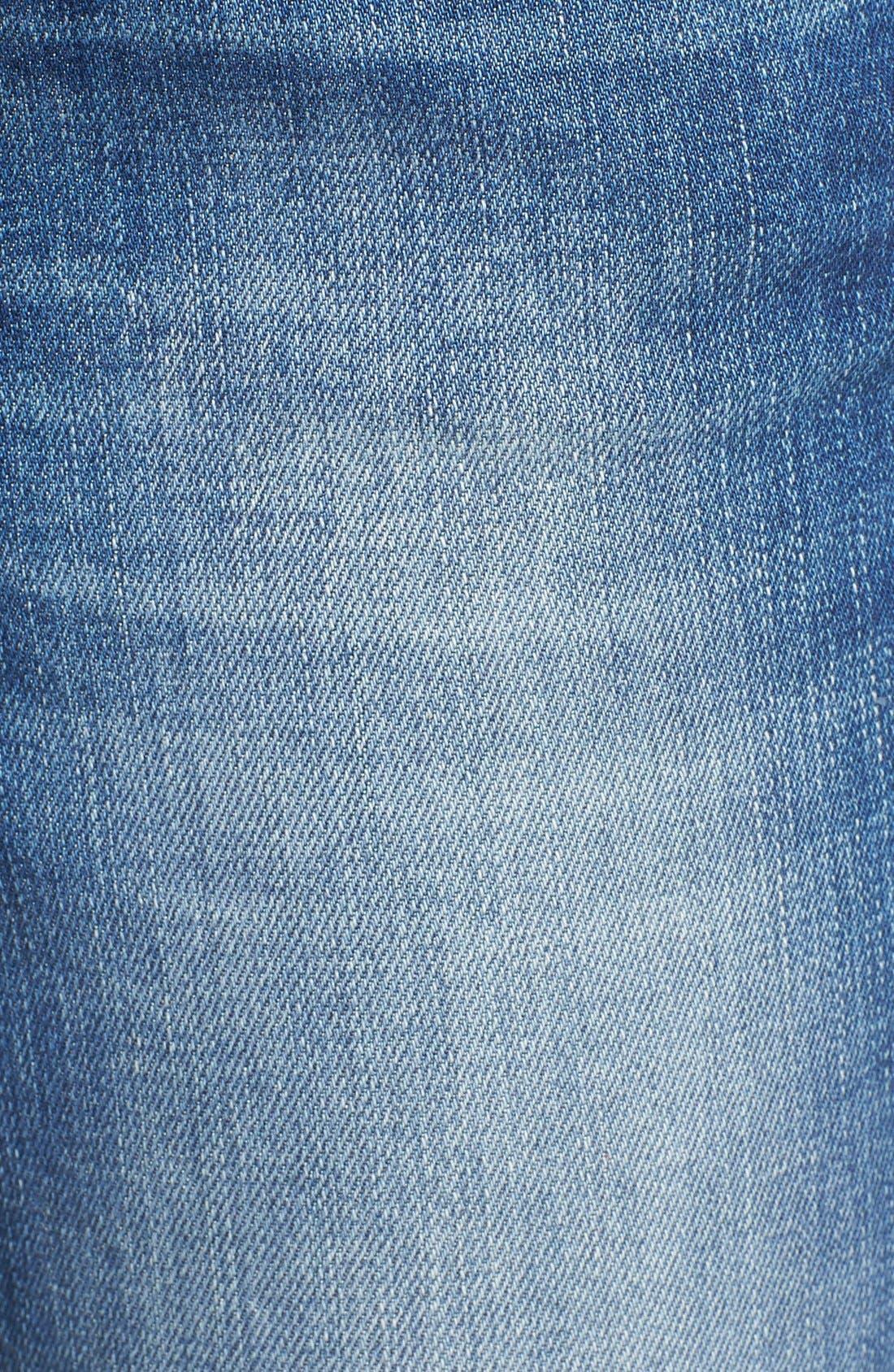 'Emma' Stretch Slim Boyfriend Jeans,                             Alternate thumbnail 6, color,                             Emma Shaded Vintage