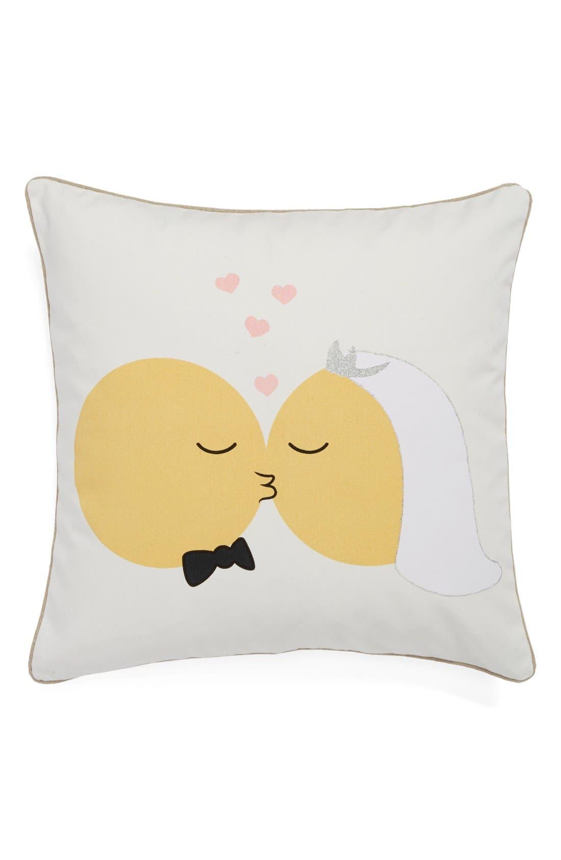 Main Image - Levtex 'Married Emoji' Pillow