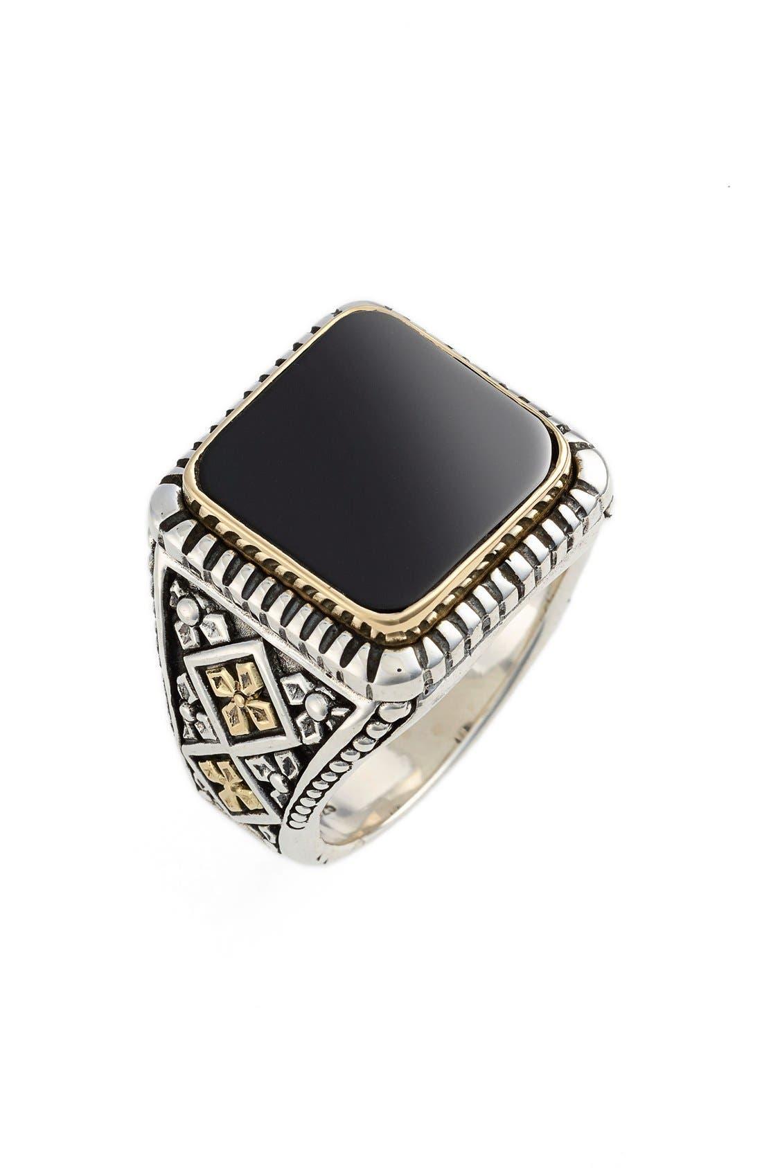 Color Classics Semiprecious Stone Ring,                         Main,                         color, Silver