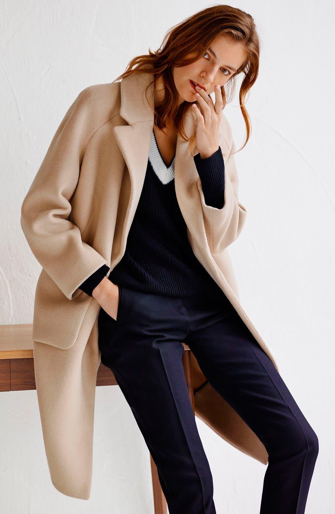Alternate Image 5  - Topshop Boutique Longline Wool Coat