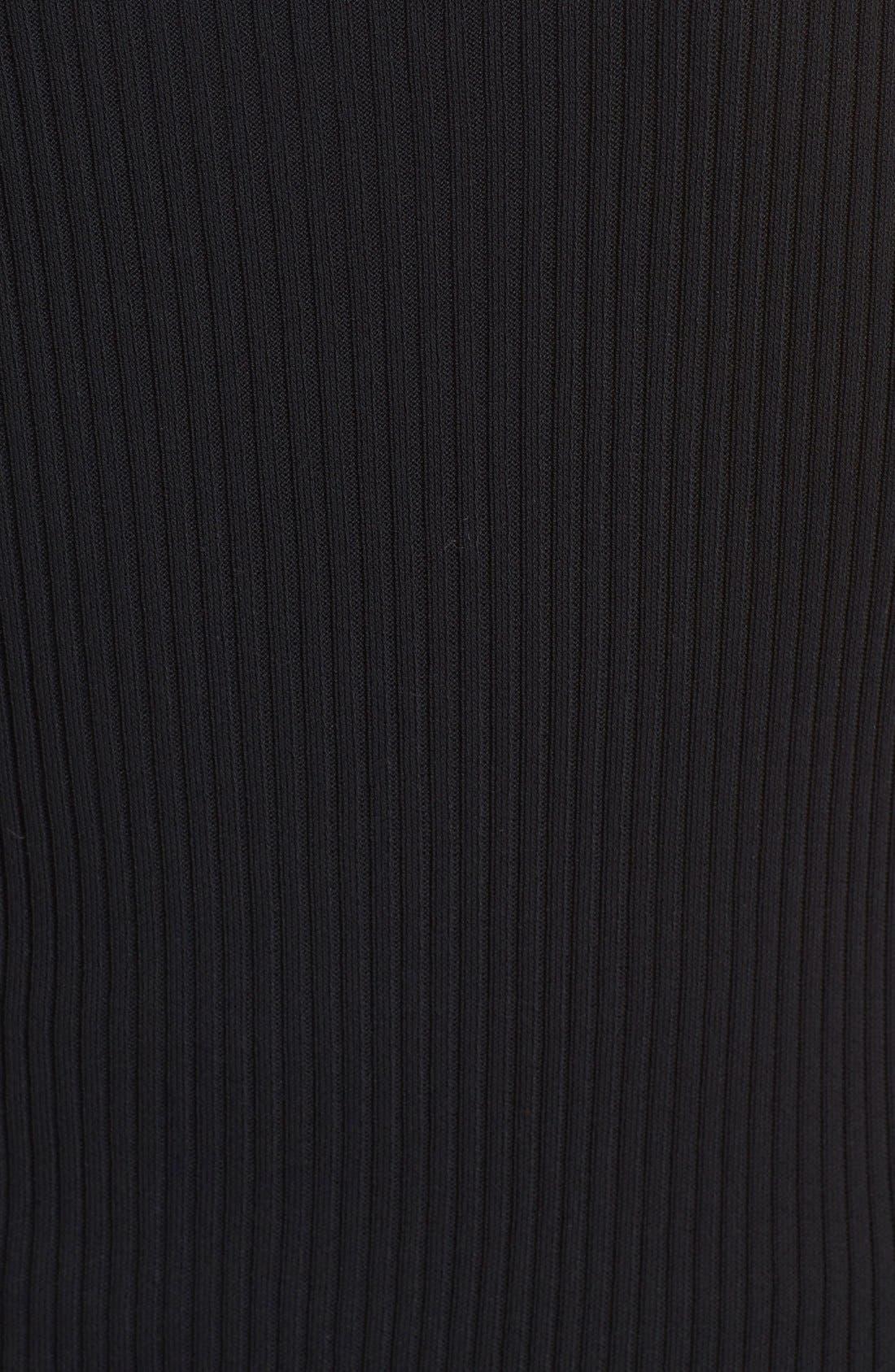 Alternate Image 3  - Fuzzi Asymmetrical Rib Knit Tank Dress