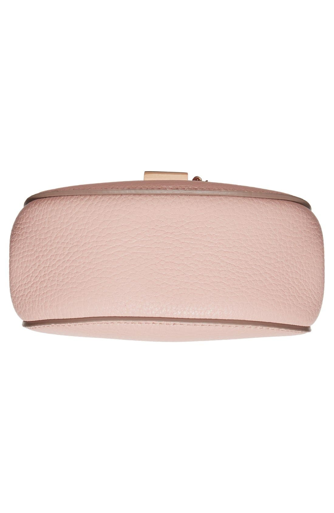 Alternate Image 5  - Chloé 'Nano Drew' Lambskin Leather Shoulder Bag