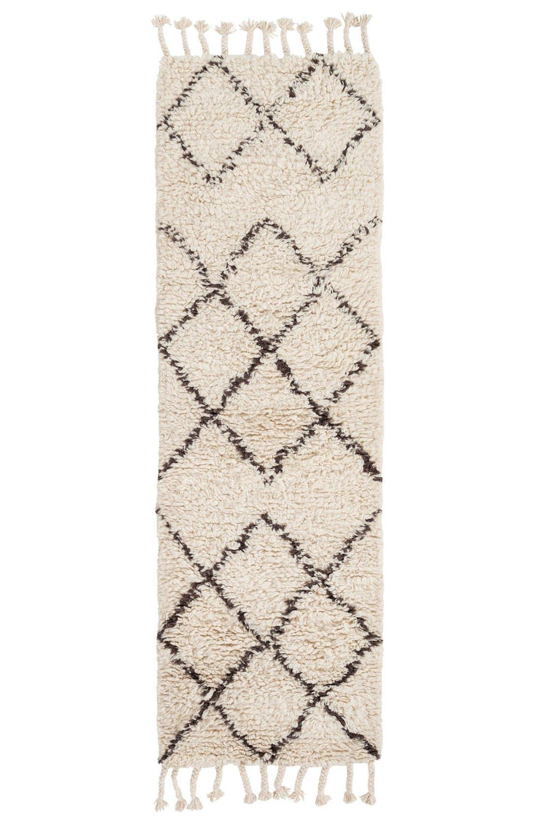 Alternate Image 2  - Surya Home 'Sherpa - Lines' Wool Rug