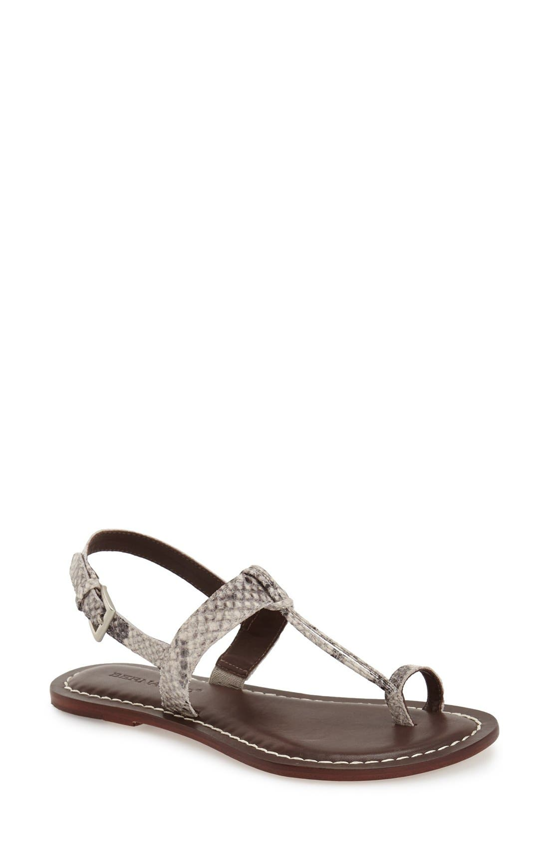 BERNARDO Maverick Leather Sandal