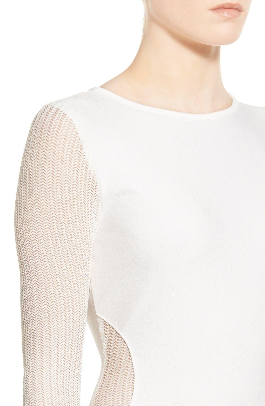 Alternate Image 4  - Missguided Open Back Midi Dress