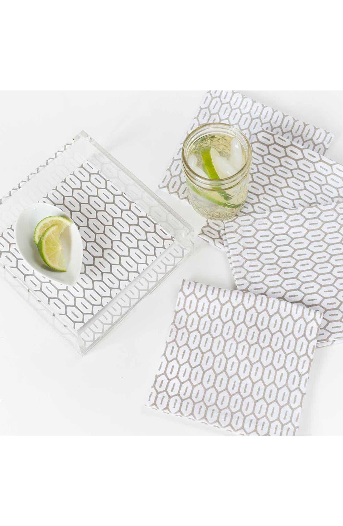 Alternate Image 2  - zestt 'Andorra' Cocktail Napkins (Set of 4)