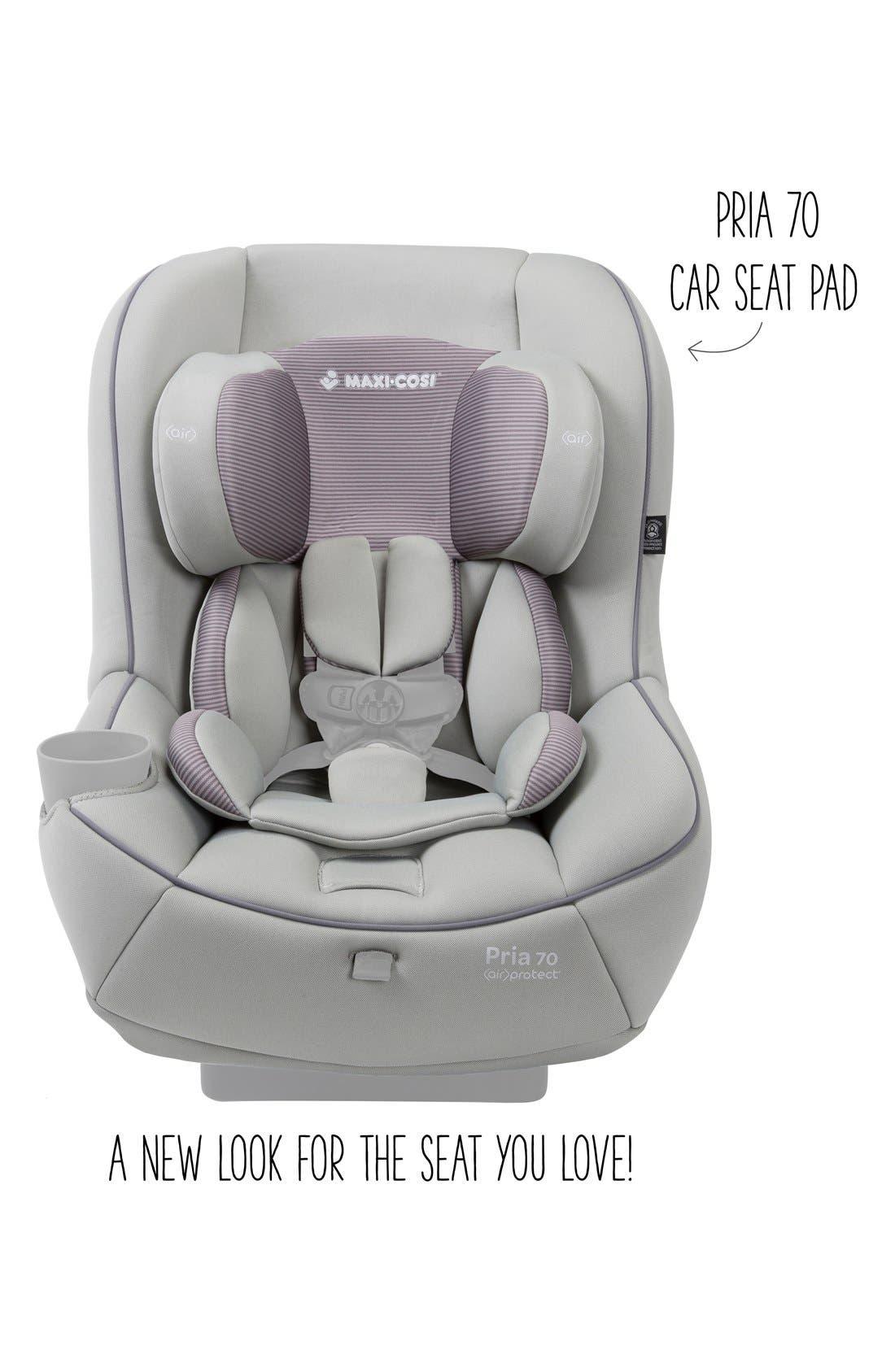 Seat Pad Fashion Kit for Pria<sup>™</sup> 70 Car Seat,                             Alternate thumbnail 2, color,                             Grey Gravel