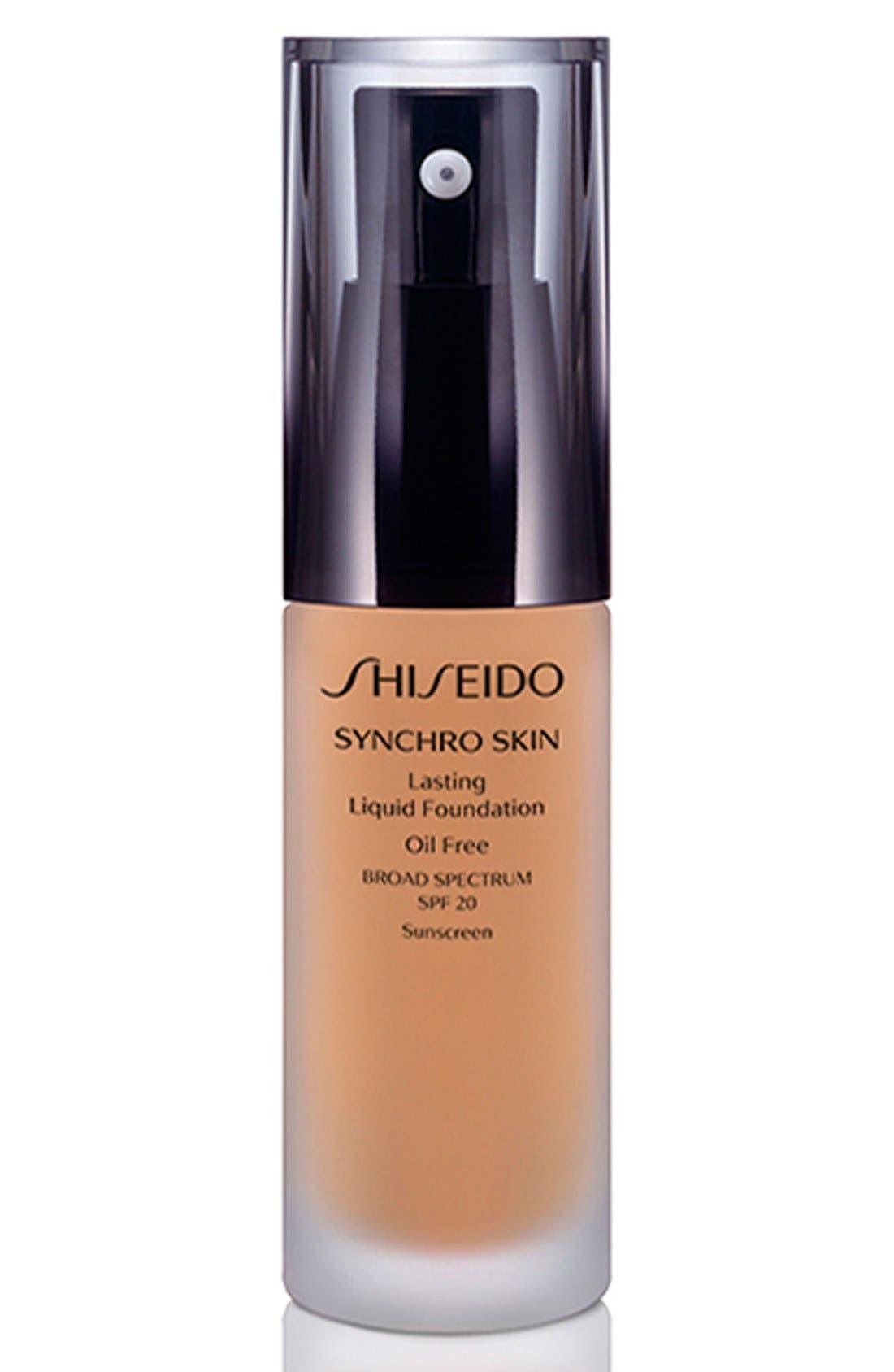 Shiseido 'Synchro Skin' Lasting Liquid Foundation Broad Spectrum SPF 20