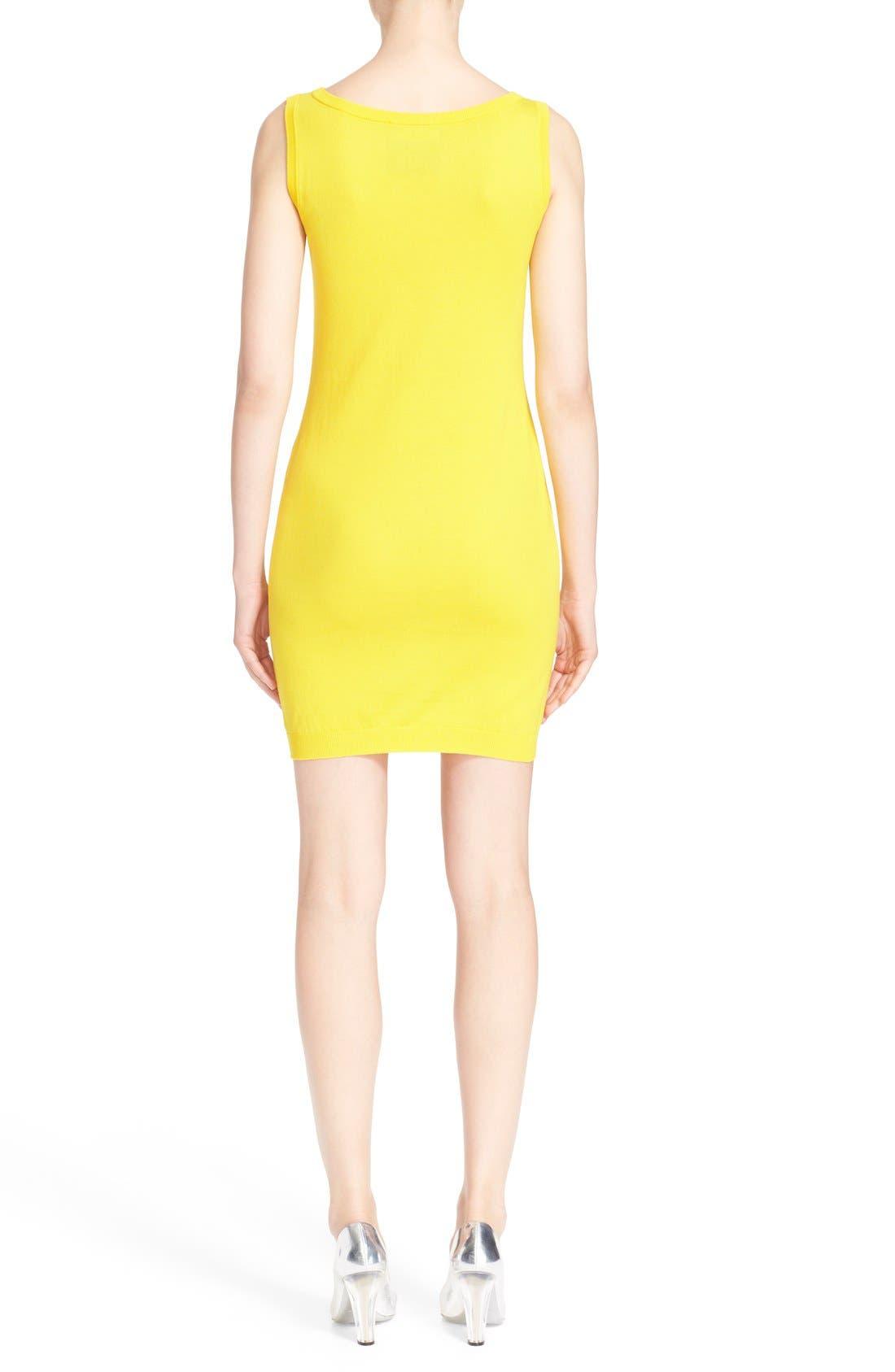 Alternate Image 2  - Moschino 'The Powerpuff Girls® - Buttercup' Intarsia Knit Dress