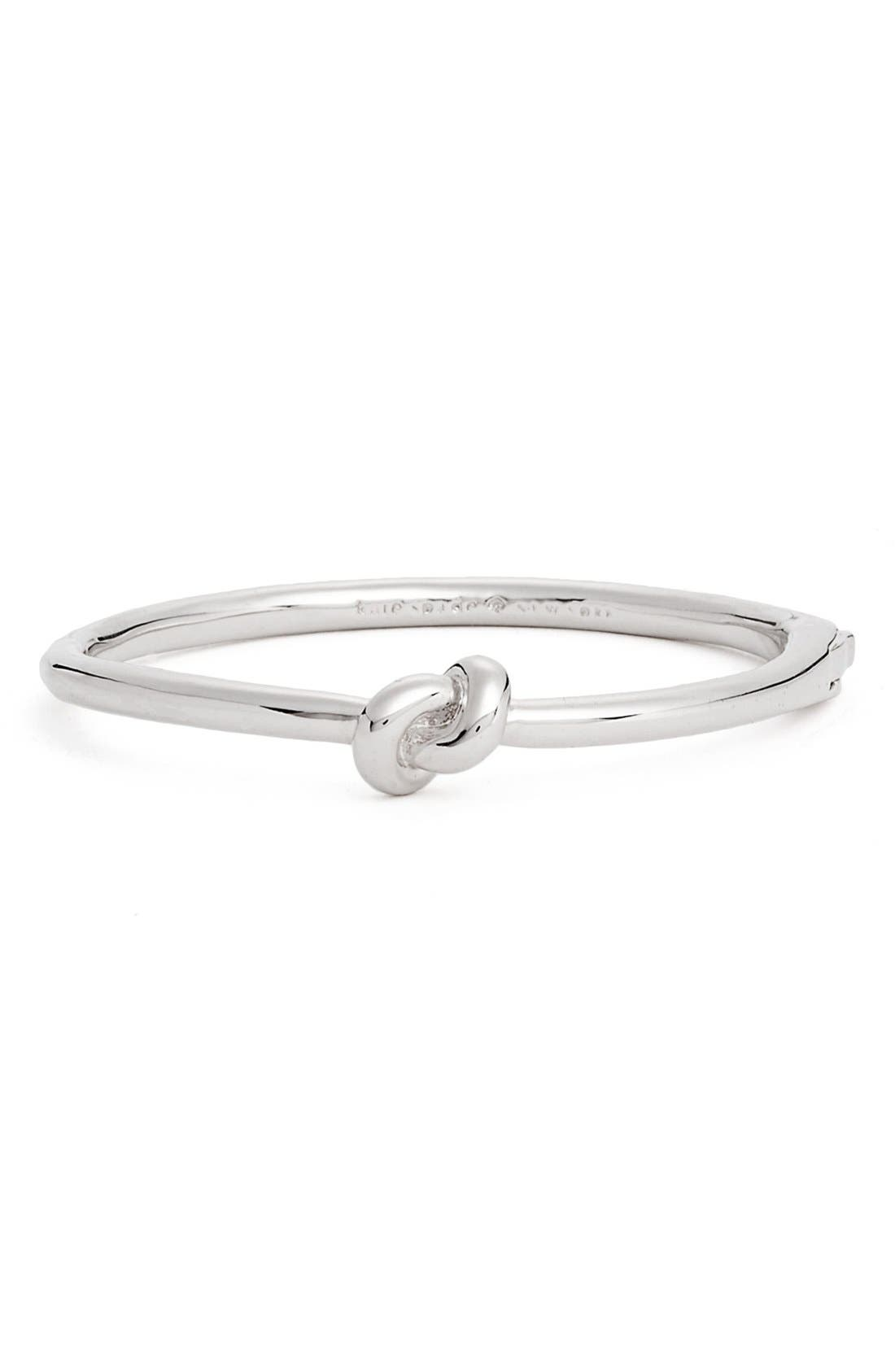 'sailors knot' bangle,                         Main,                         color, Silver