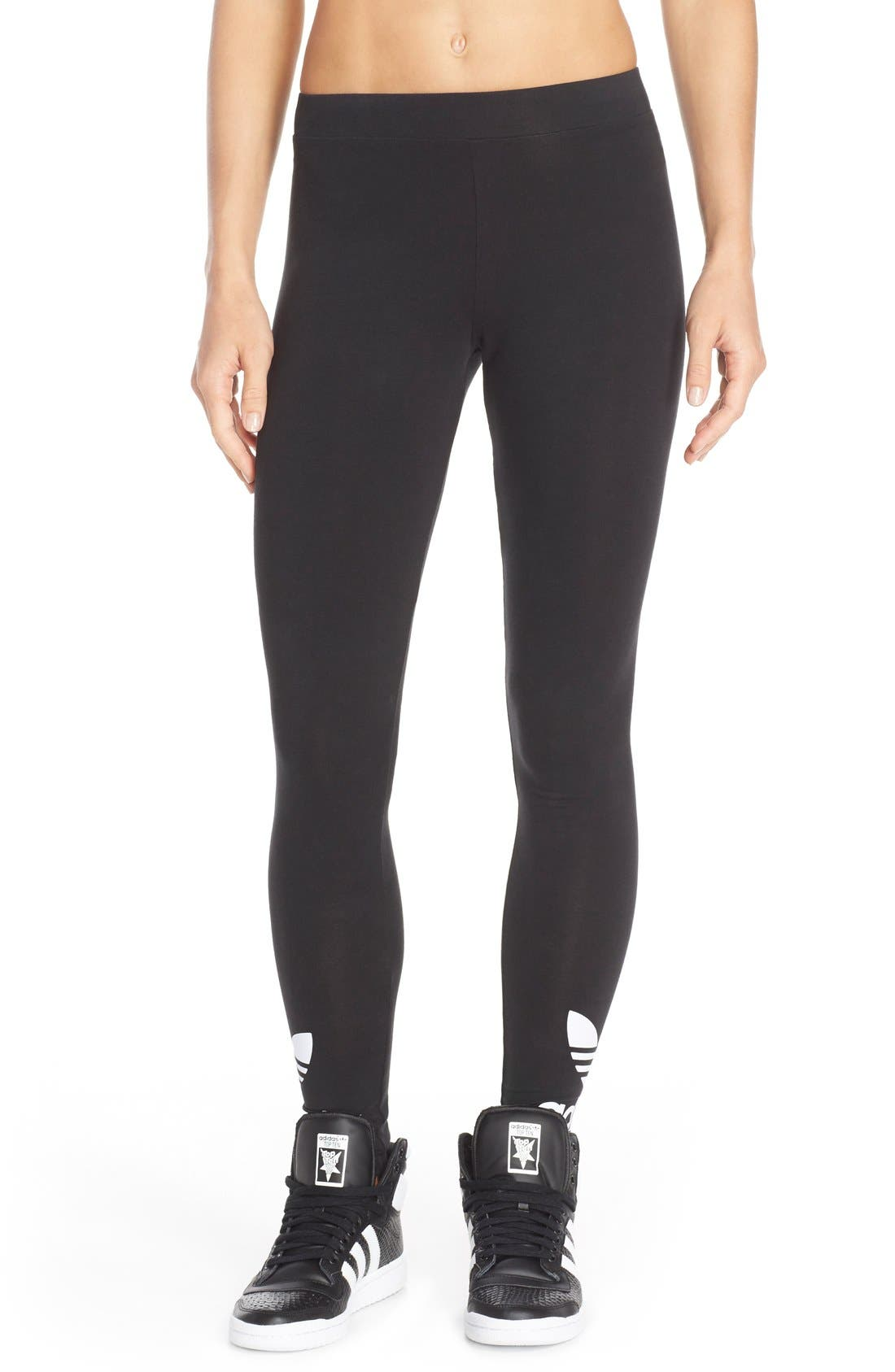 Alternate Image 1 Selected - adidas Originals Logo Leggings
