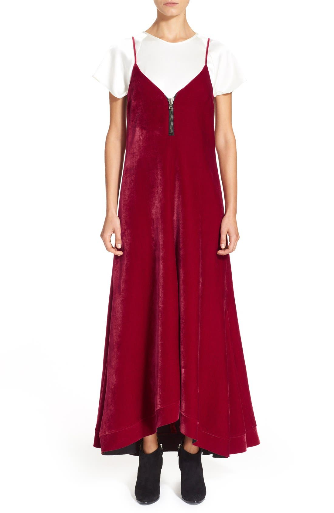 Alternate Image 6  - ELLERY 'Roulette' A-Line Dress