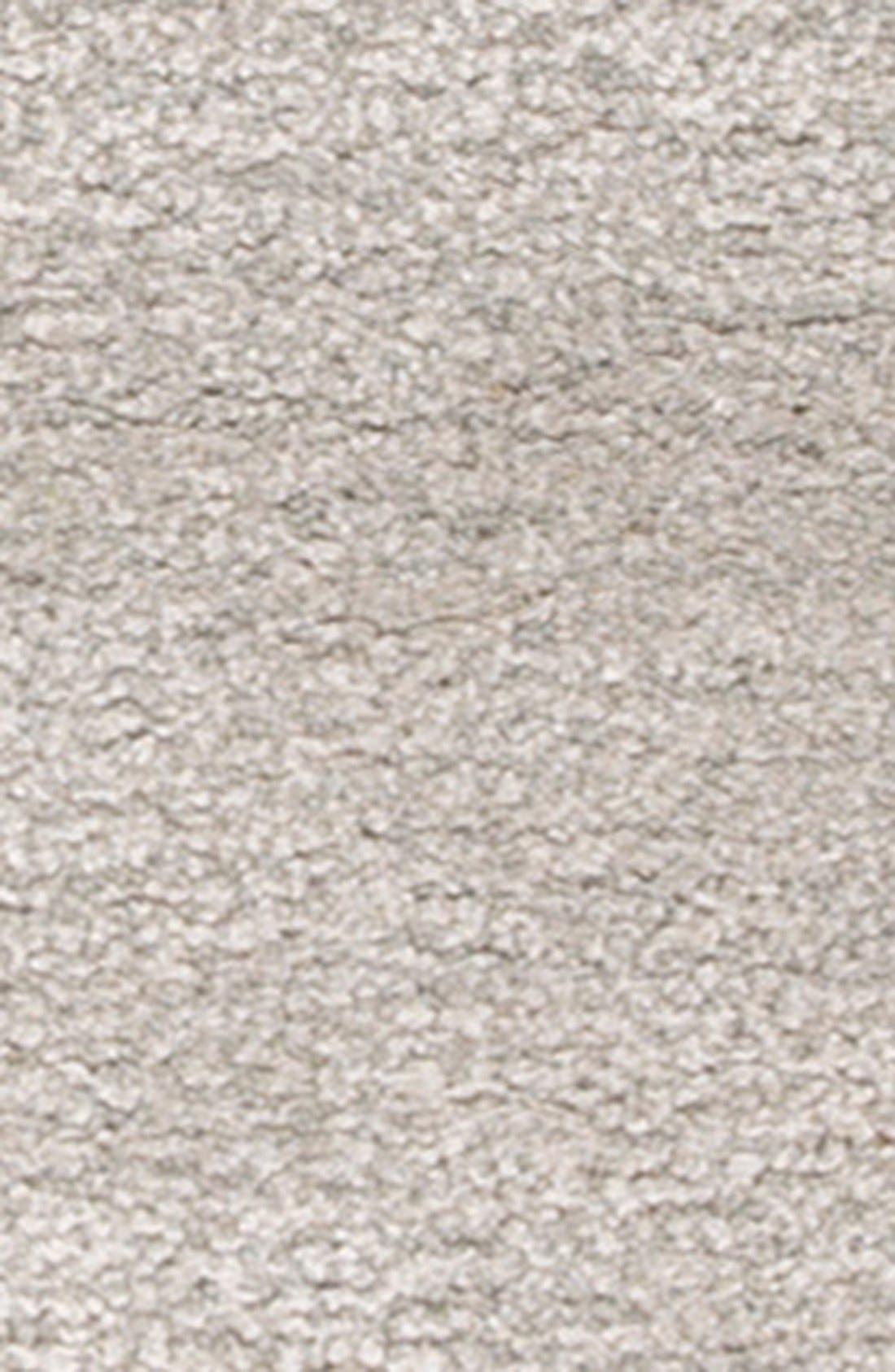 'gramercy' dot wool & silk rug,                             Alternate thumbnail 3, color,                             Grey