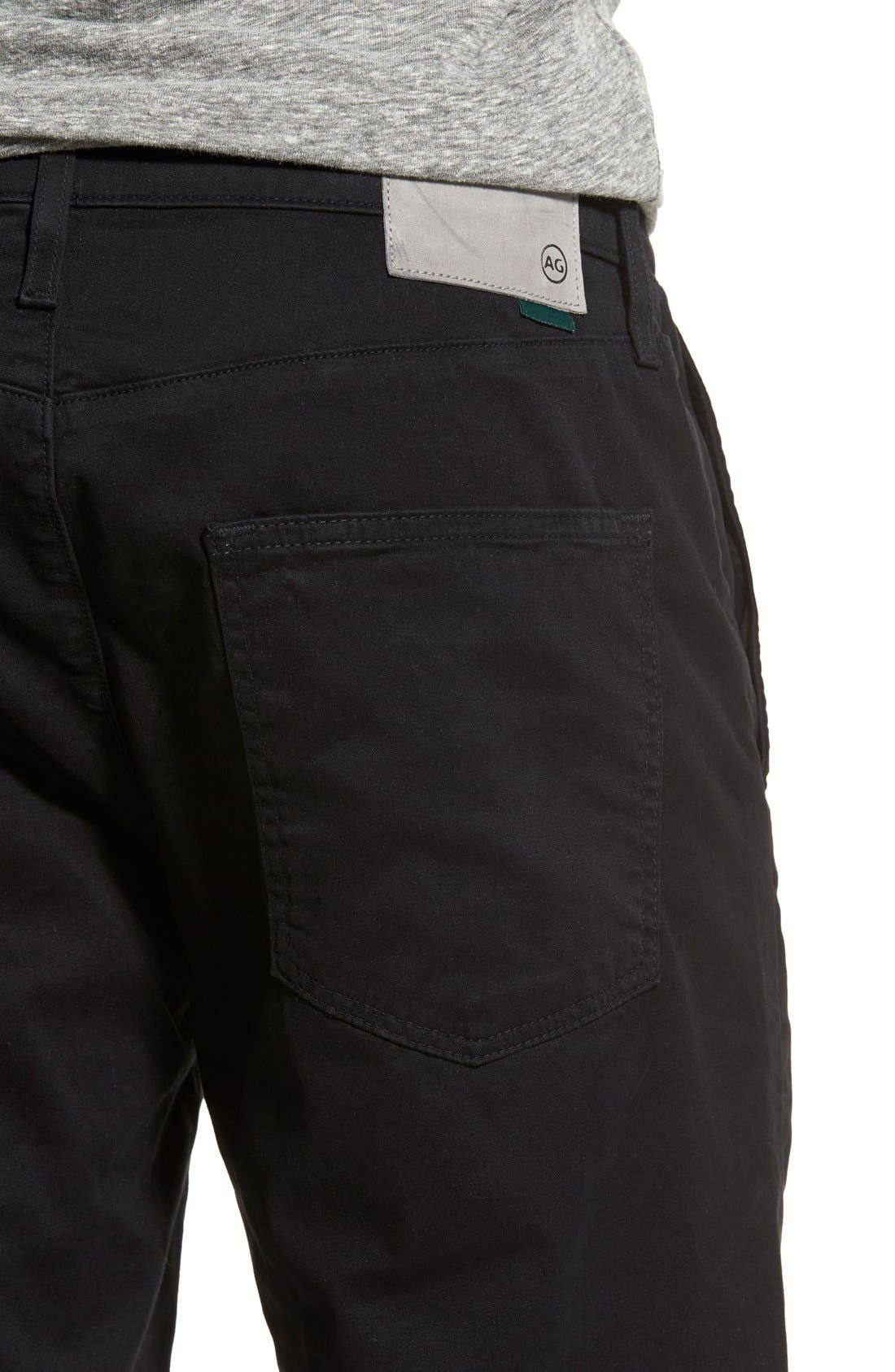 Alternate Image 4  - AG Green Label 'Graduate' Slim Straight Leg Golf Pants