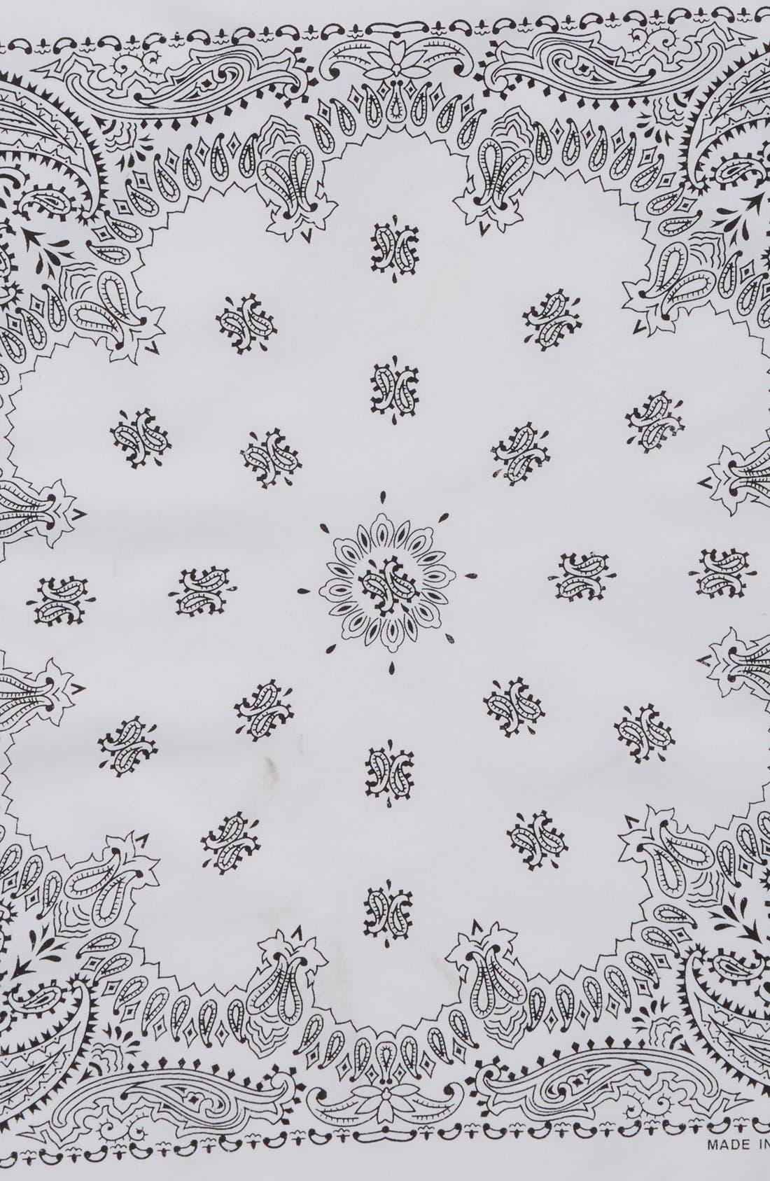 Alternate Image 3  - Cara Cotton Bandana