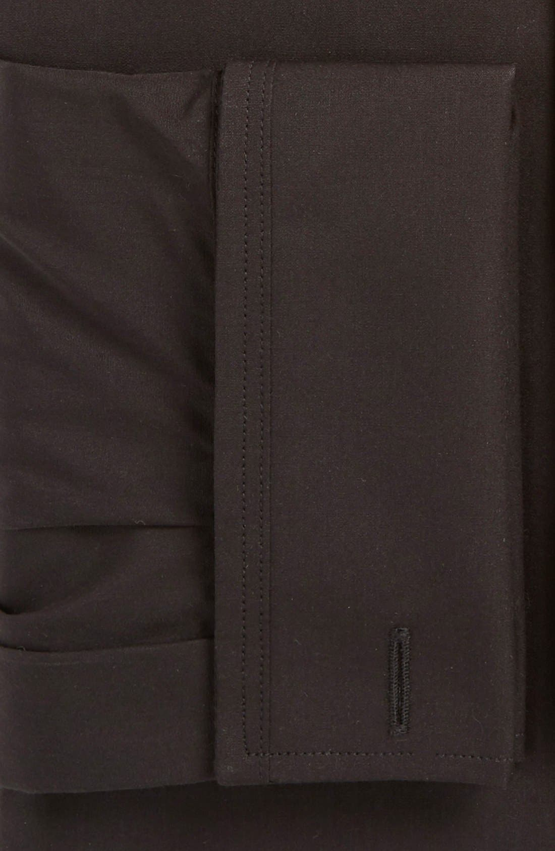 Alternate Image 2  - Calibrate Trim Fit Solid Tuxedo Shirt