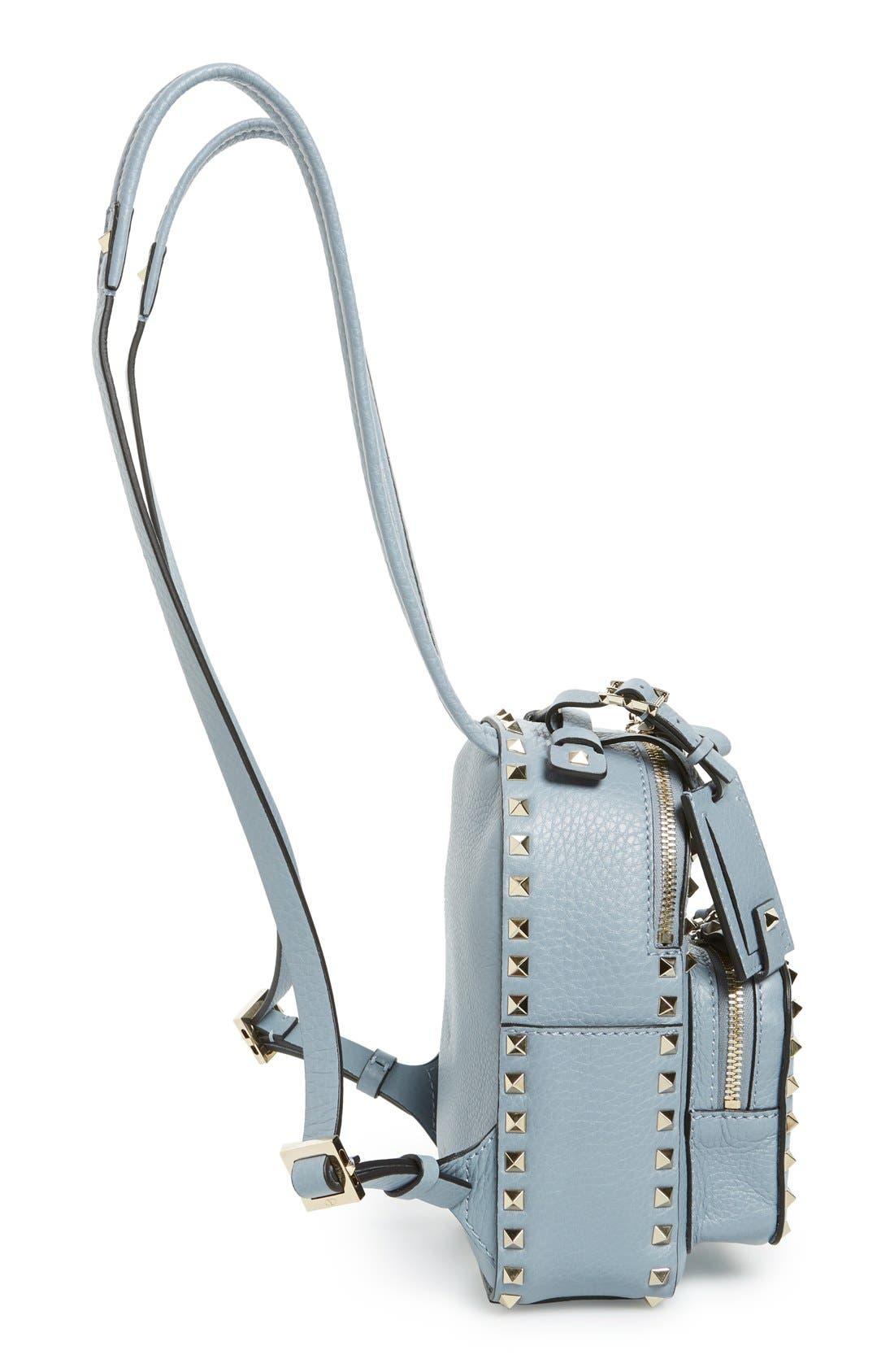 Alternate Image 4  - Valentino 'Small Rockstud' Leather Backpack