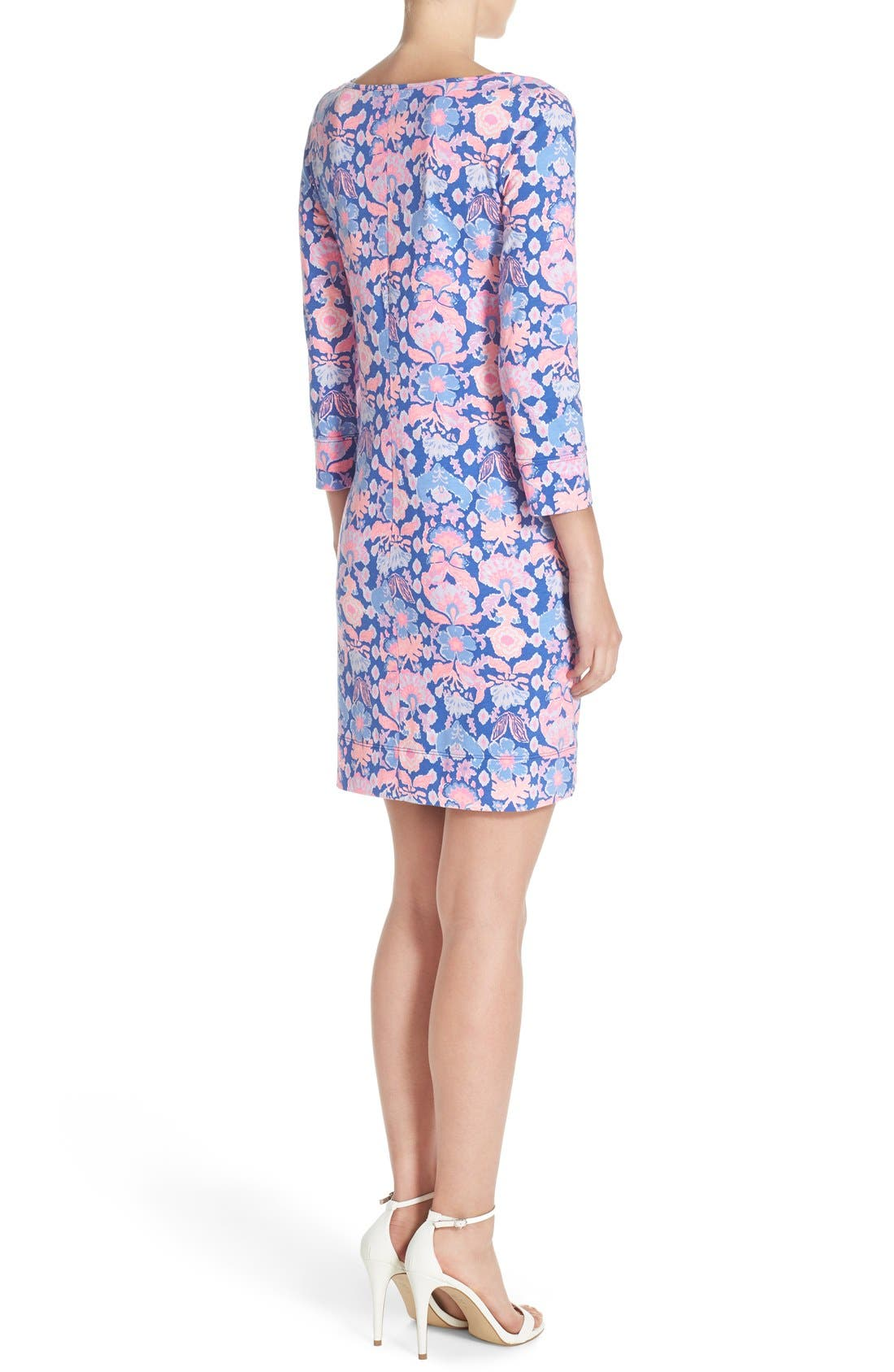 Alternate Image 2  - Lilly Pulitzer® 'Marlowe' Print Pima Cotton Shift Dress
