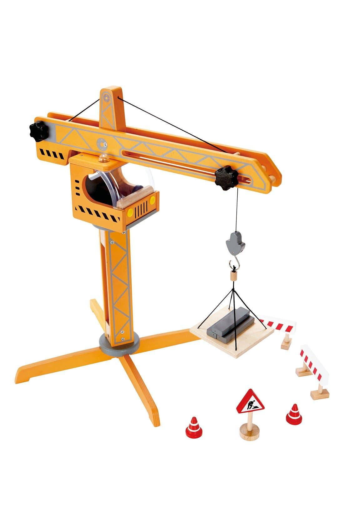 Alternate Image 2  - Hape Crane Lift Toy