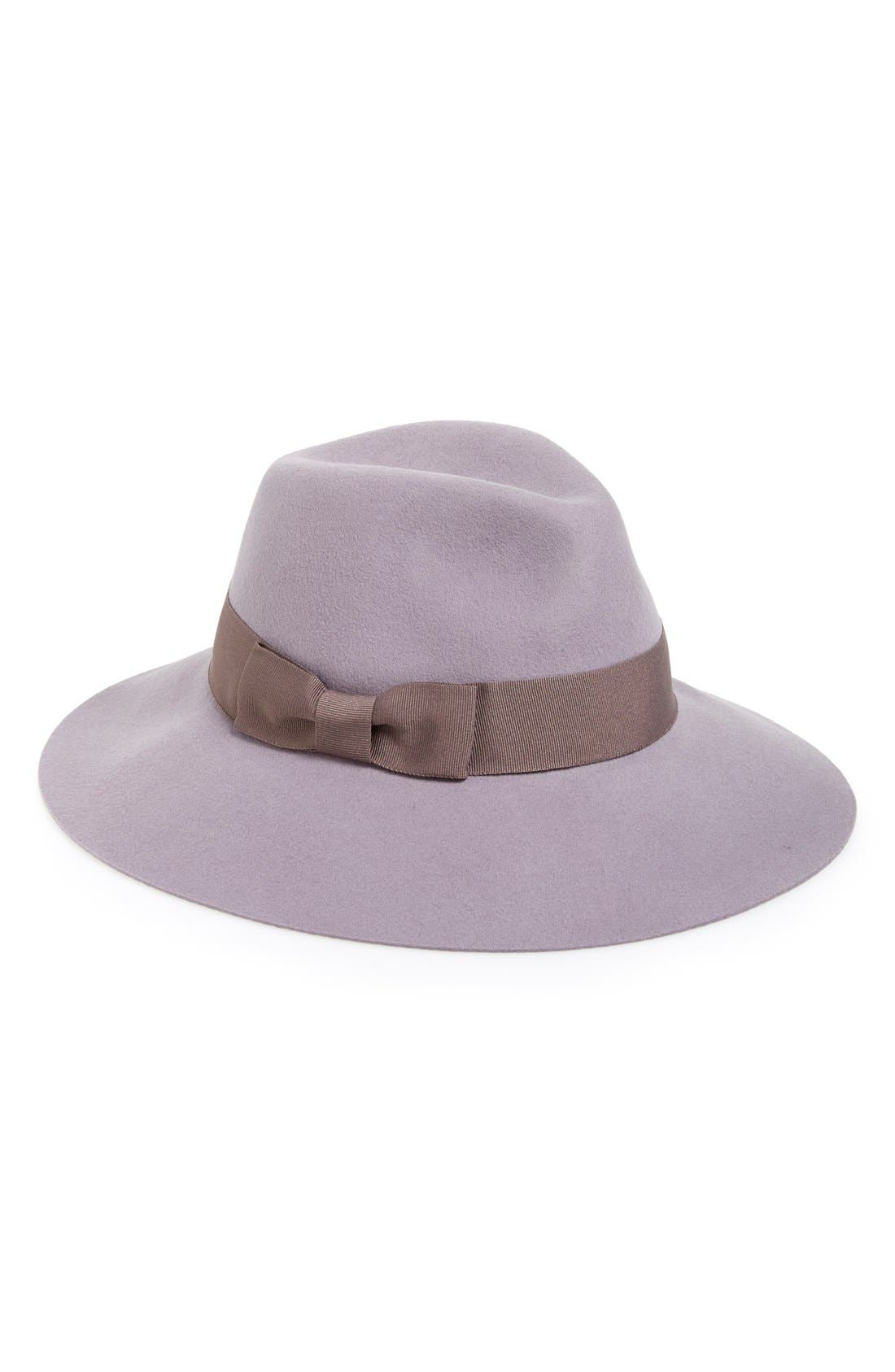 Main Image - August Hat Pastel Wool Fedora