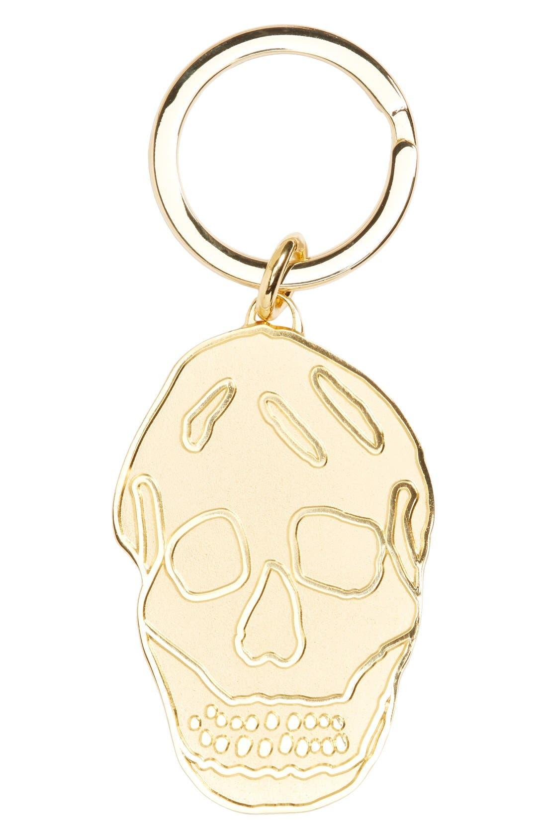 Main Image - Alexander McQueen Brass Skull Key Ring