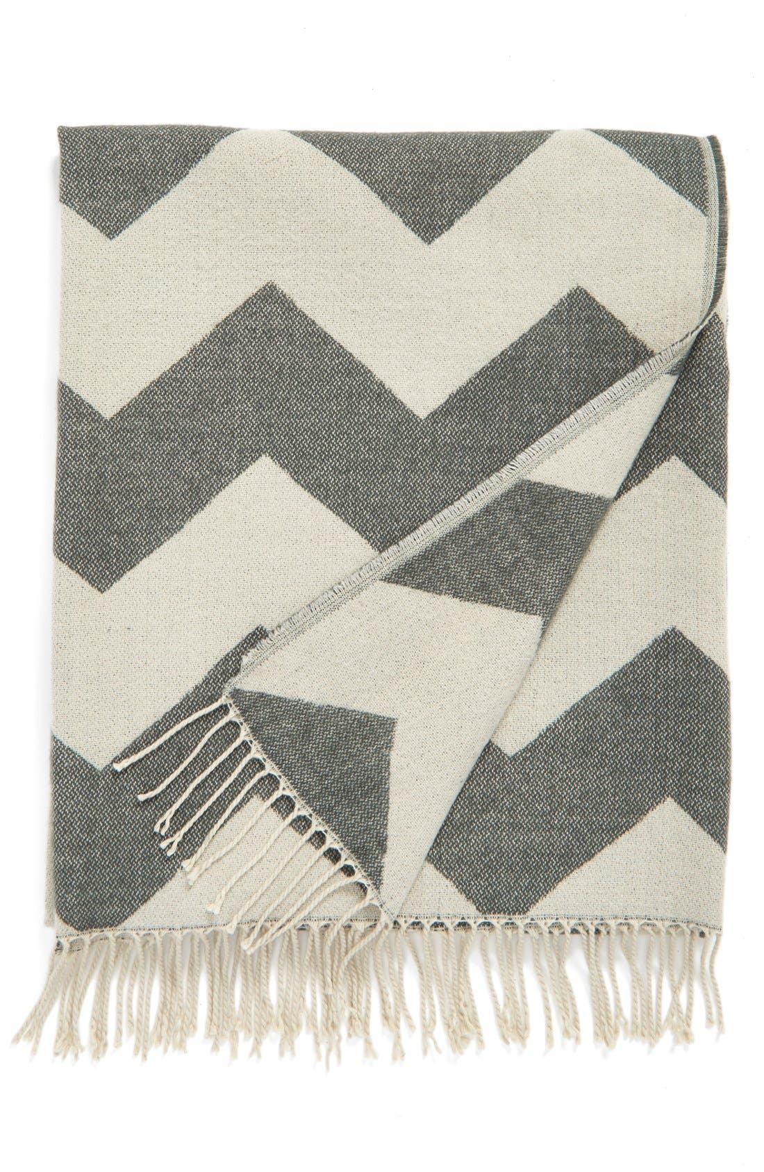 Alternate Image 1 Selected - Levtex Chevron Throw Blanket