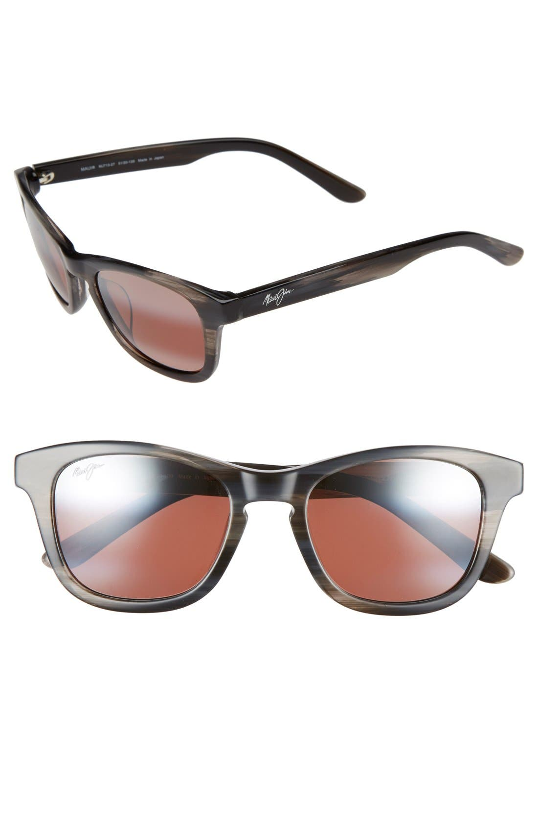 Maui Jim Ka'a Point 51mm PolarizedPlus2® Sunglasses