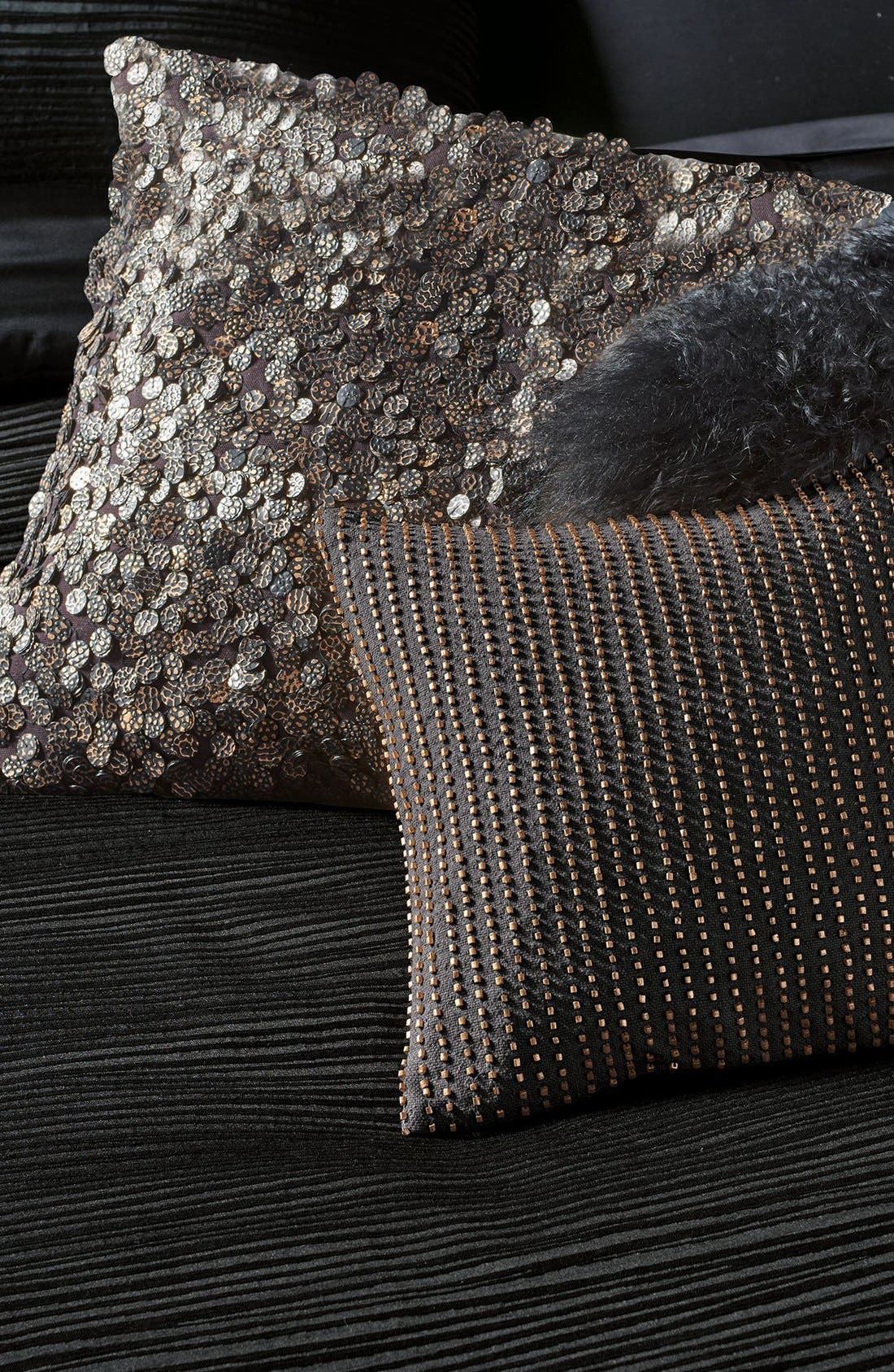 Alternate Image 2  - Donna Karan Collection Sequin Pillow
