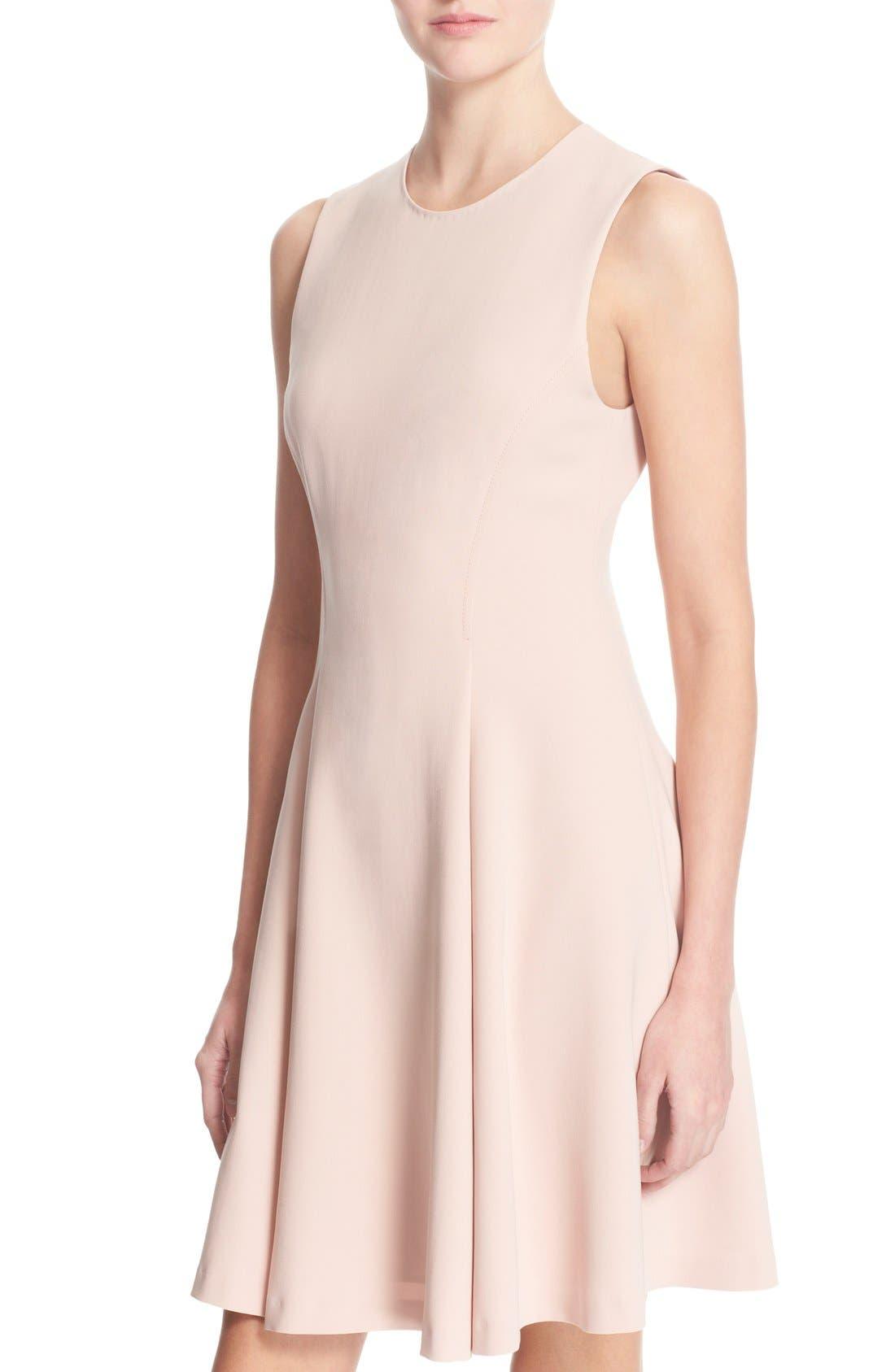 Alternate Image 4  - Theory 'Tespa' Crepe Fit & Flare Dress
