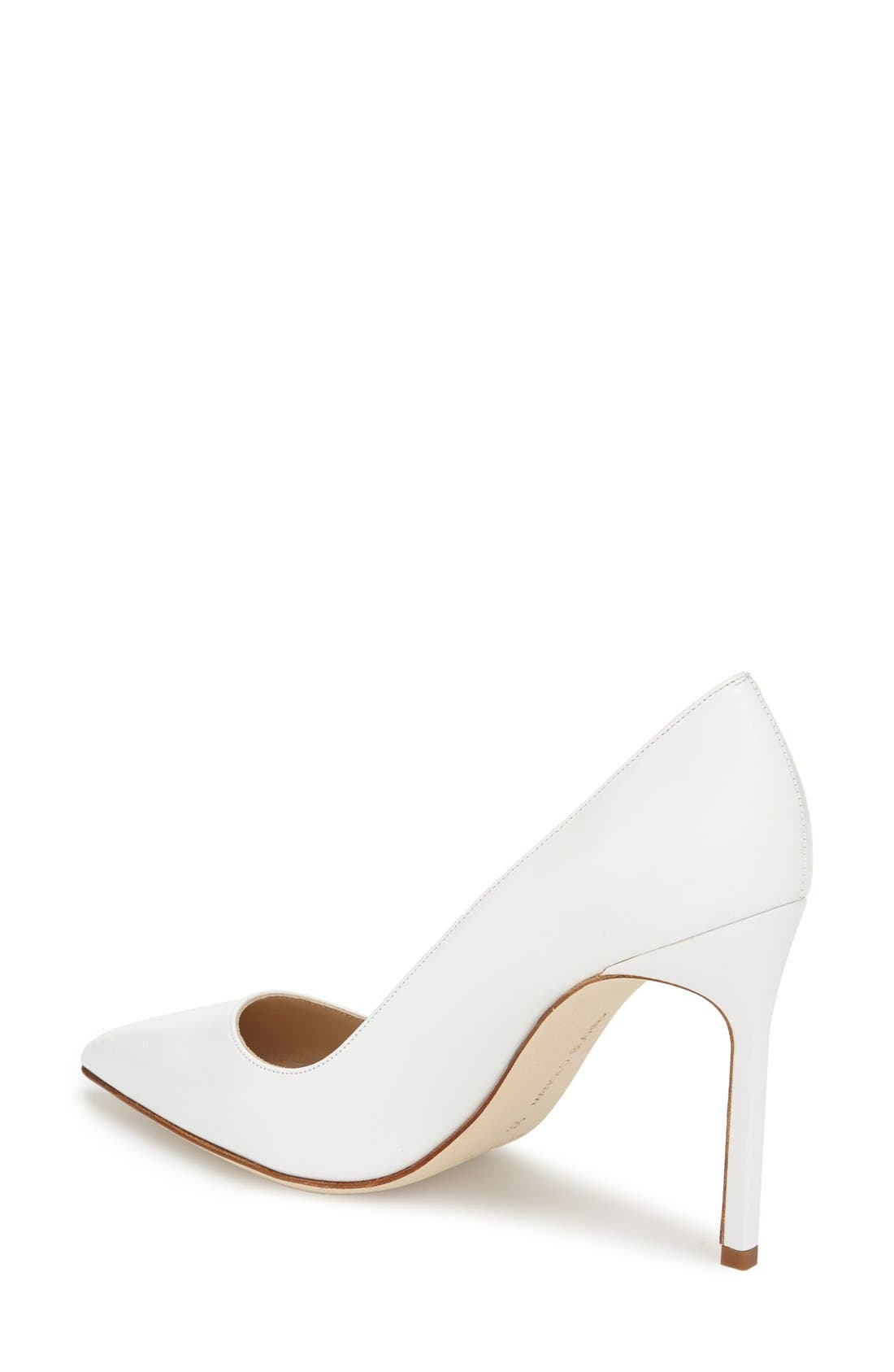 Alternate Image 2  - Manolo Blahnik 'BB' Pointy Toe Pump (Women)