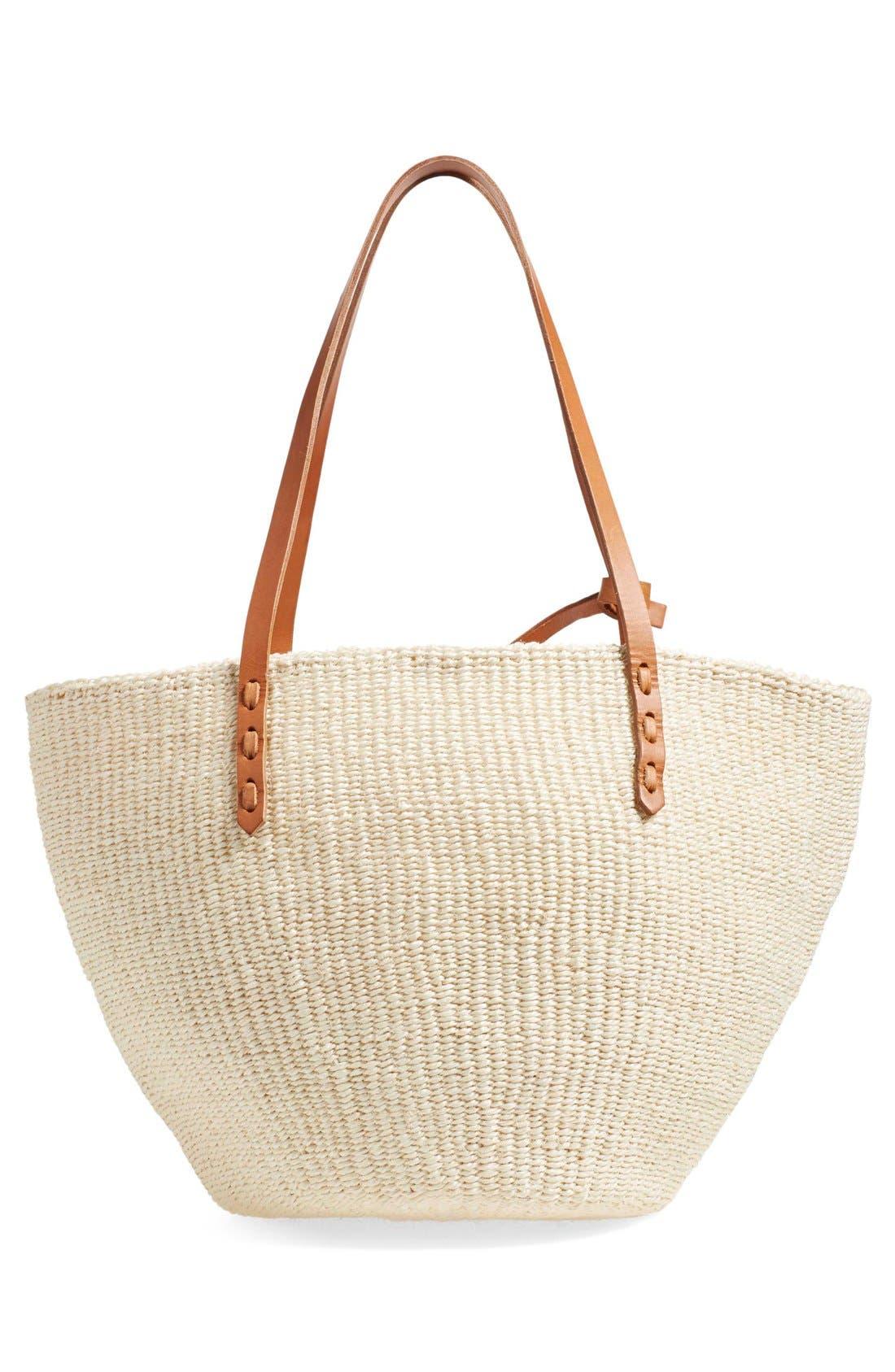 Alternate Image 3  - Clare V. 'Kenya' Sisal Shoulder Bag