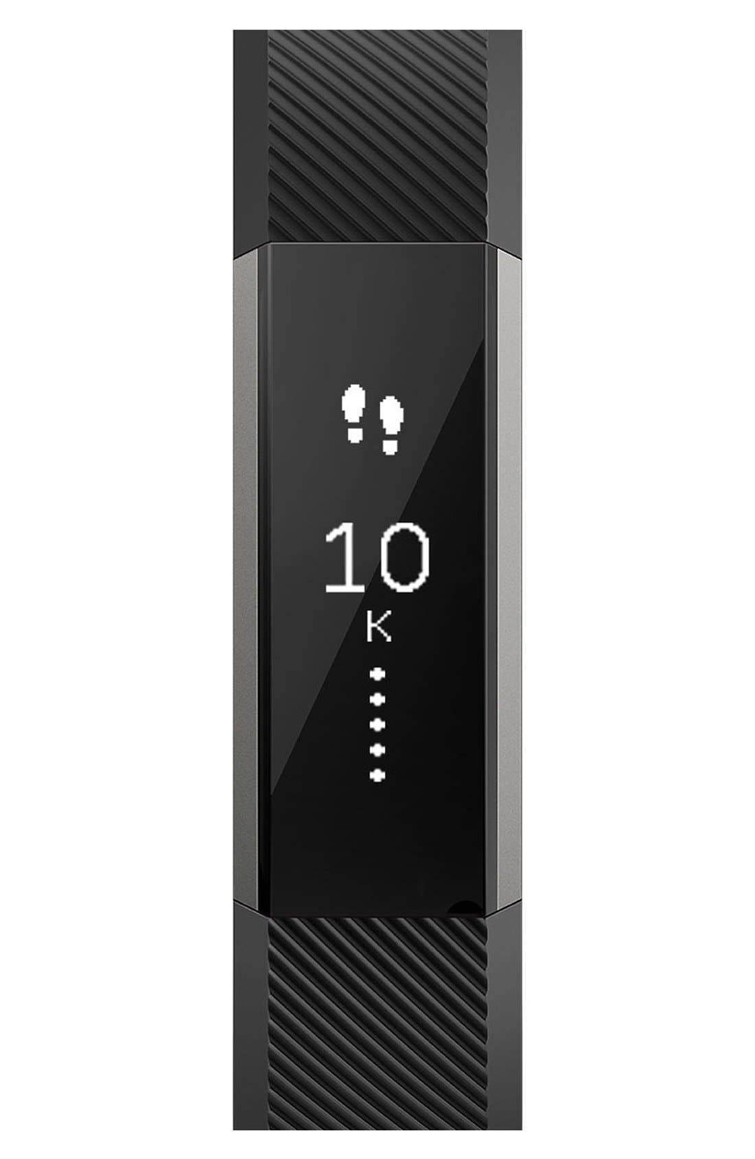 'Alta' Wireless Fitness Tracker,                             Alternate thumbnail 6, color,                             Black