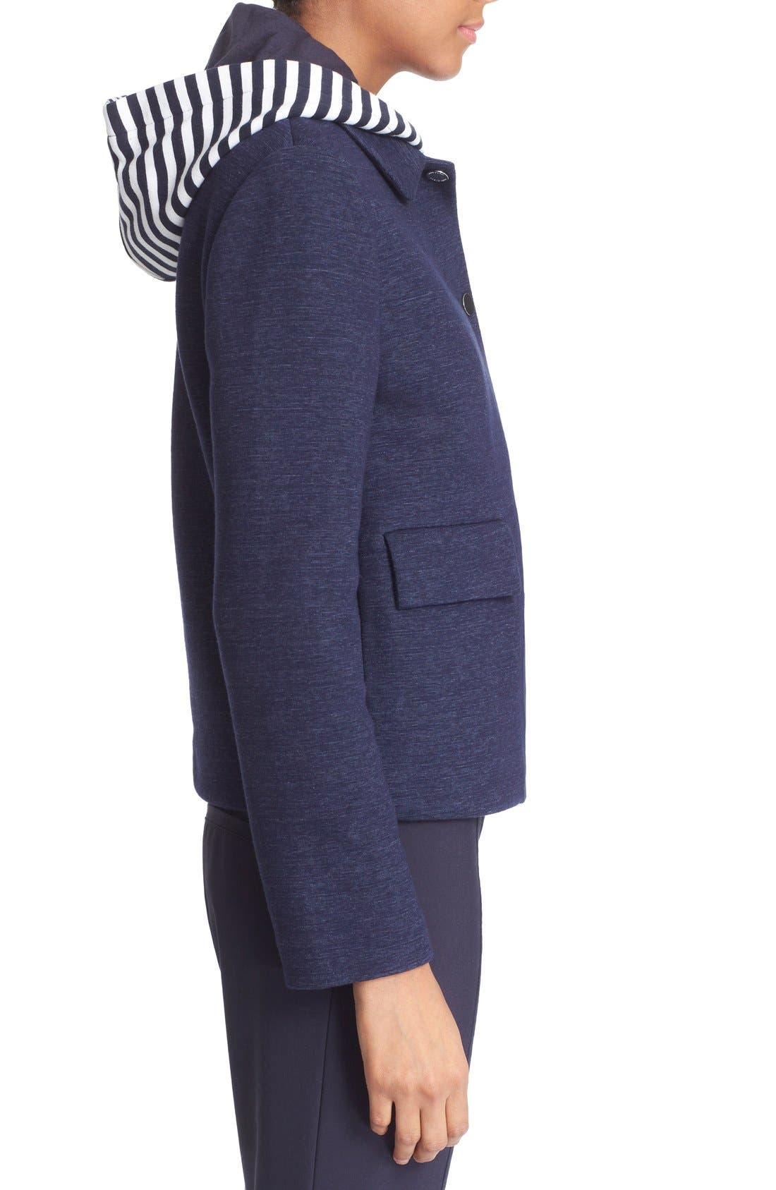 Alternate Image 3  - Tory Burch Hooded Jacket