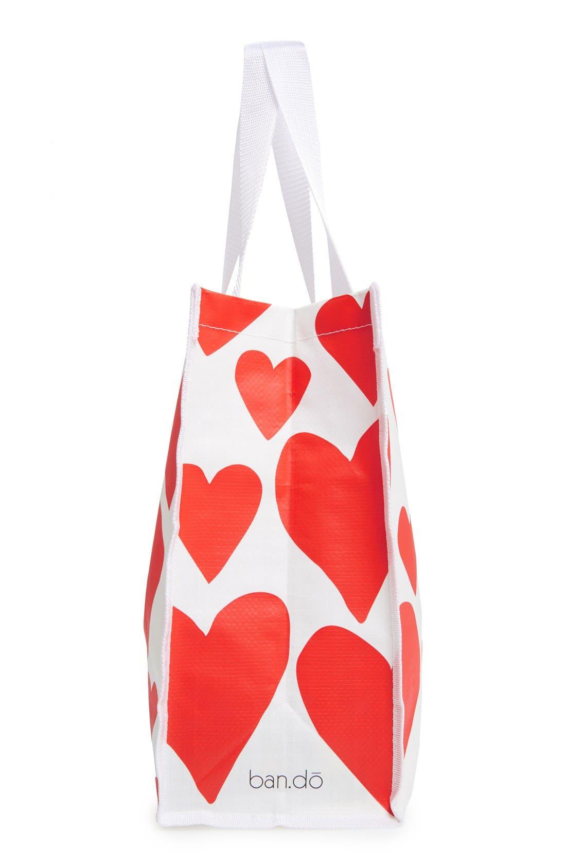 Alternate Image 5  - ban.do 'I Want It All - Extreme Hearts' Shopper
