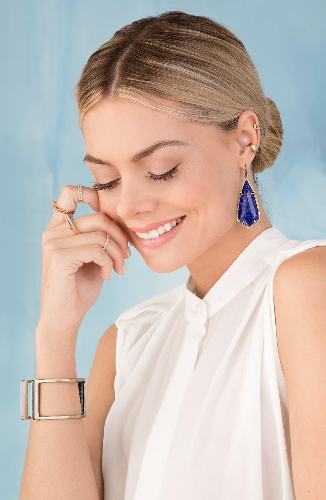 Alternate Image 2  - Kendra Scott 'Caroline' Semiprecious Stone Drop Earrings