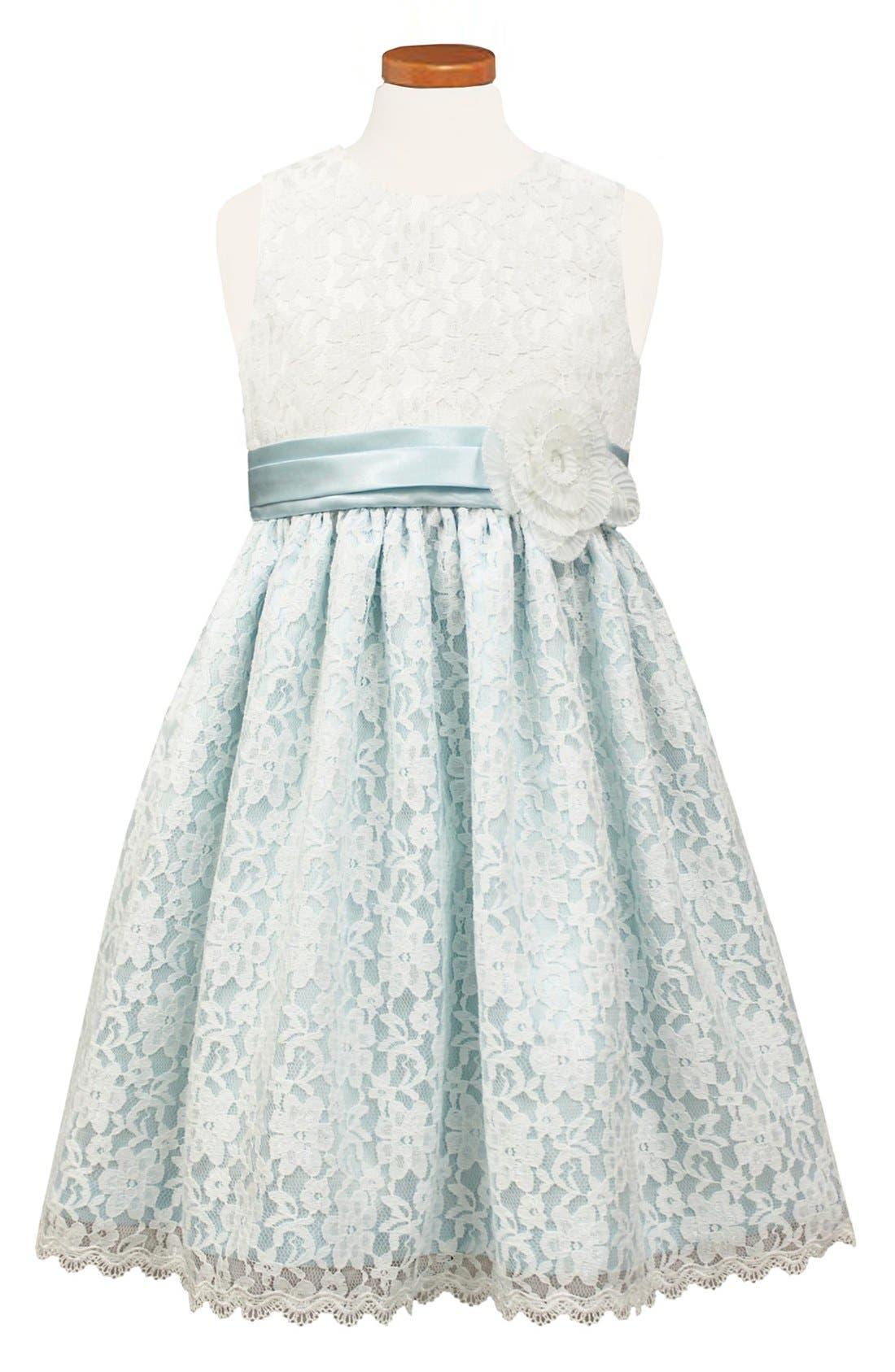 SORBET Floral Lace Dress