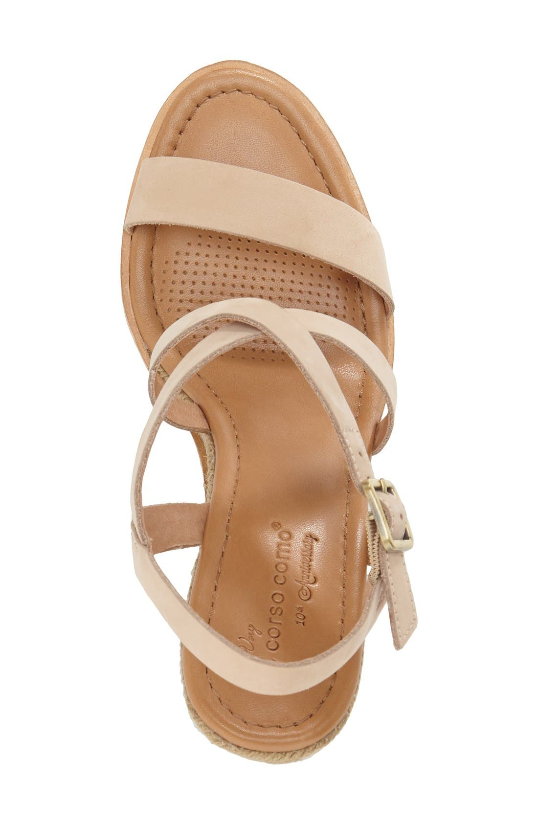 Alternate Image 3  - Corso Como 'Gladis' Espadrille Wedge Sandal (Women)
