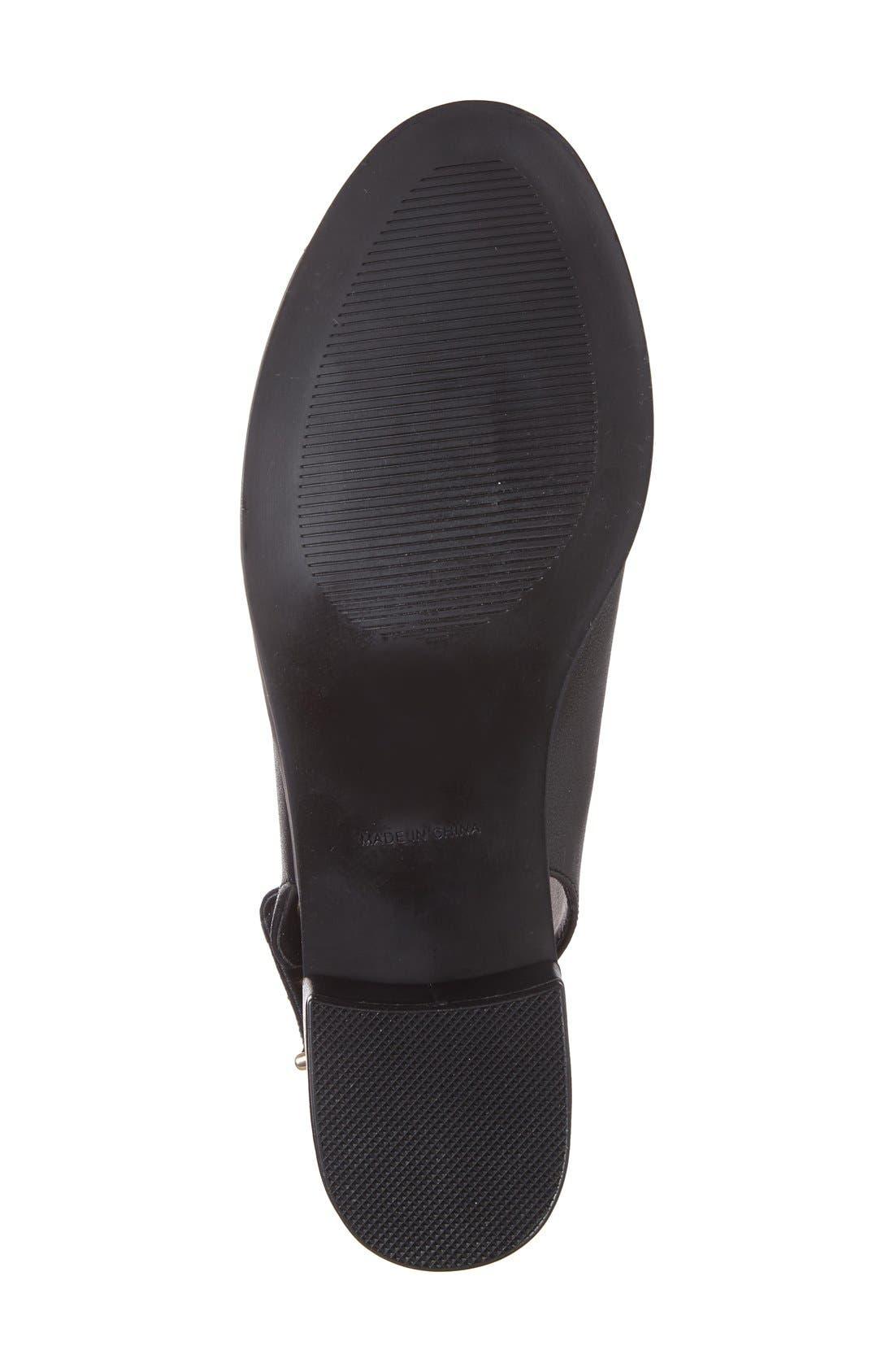 Alternate Image 4  - Topshop 'Nix' Slingback Block Heel Sandal (Women)