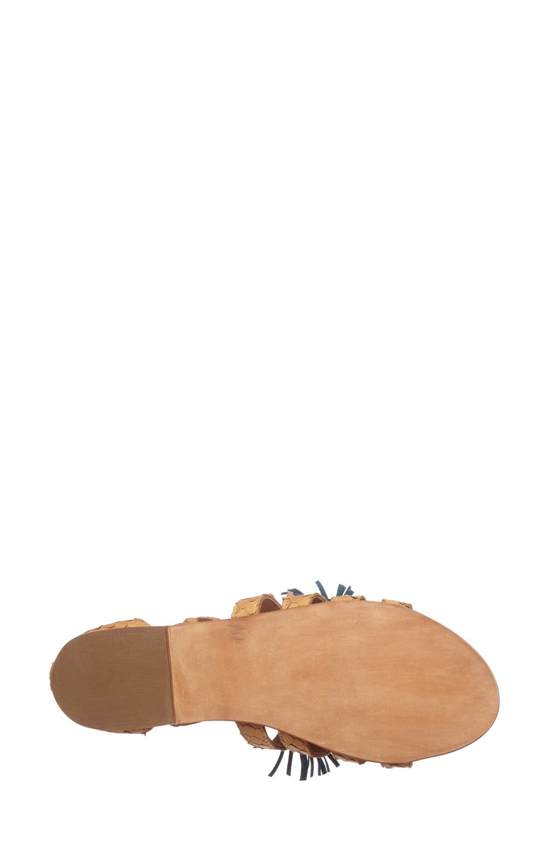 Alternate Image 4  - Steve Madden 'Monrowe' Tassel Sandal (Women)