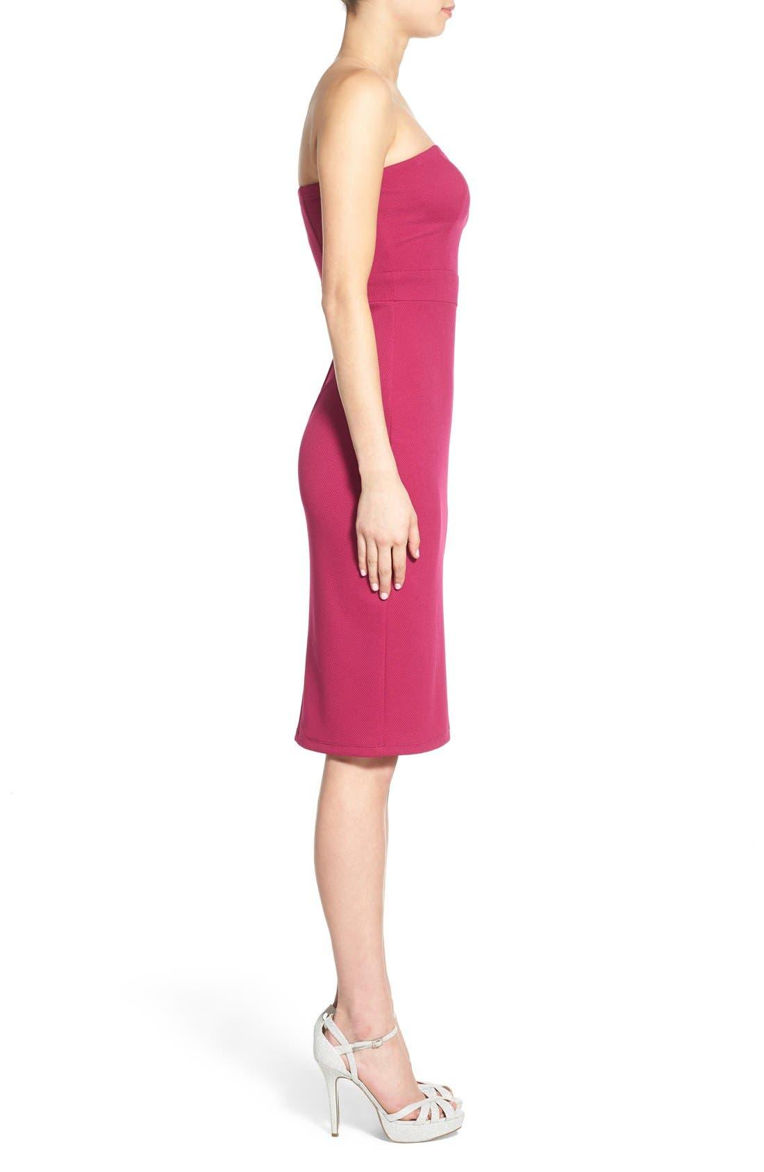 Alternate Image 3  - Speechless Strapless Sheath Dress
