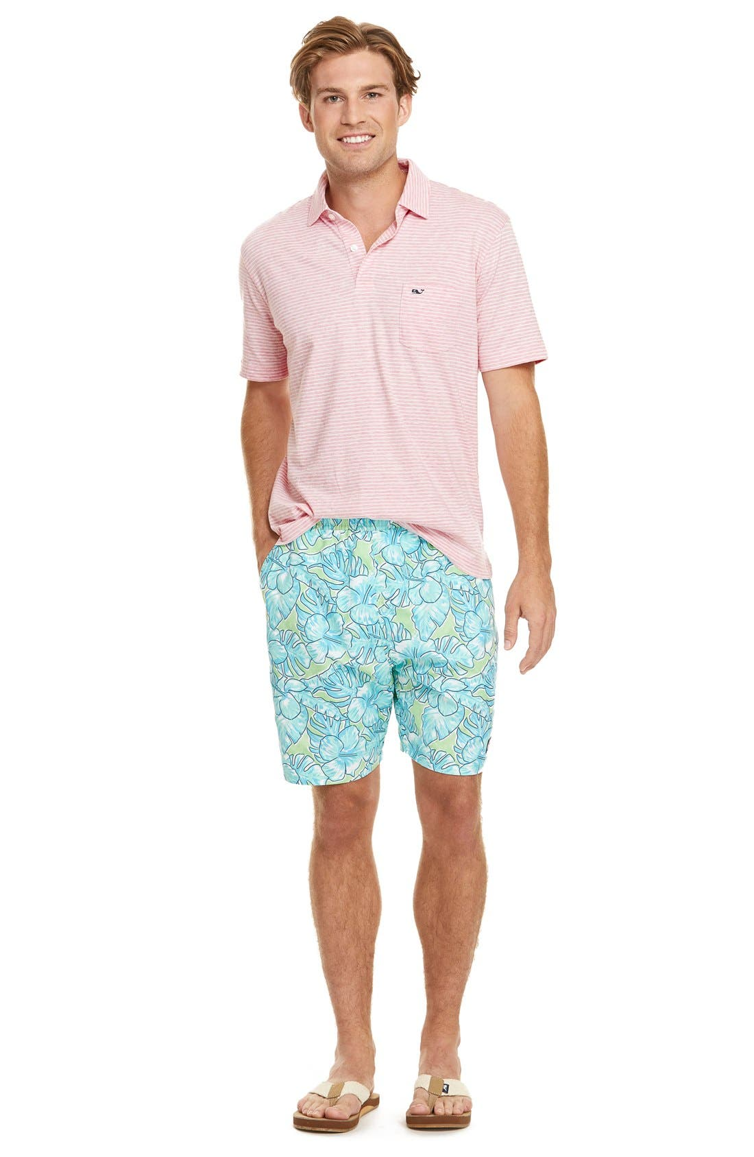 Alternate Image 6  - Vineyard Vines 'Feeder Stripe' Pima Cotton Polo