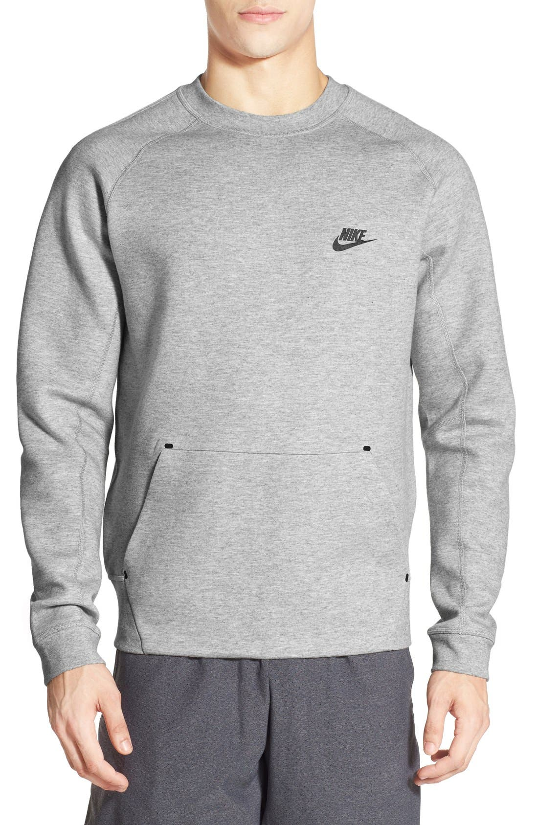 Nike 'Tech Fleece' Thermal Crewneck Sweatshirt | Nordstrom