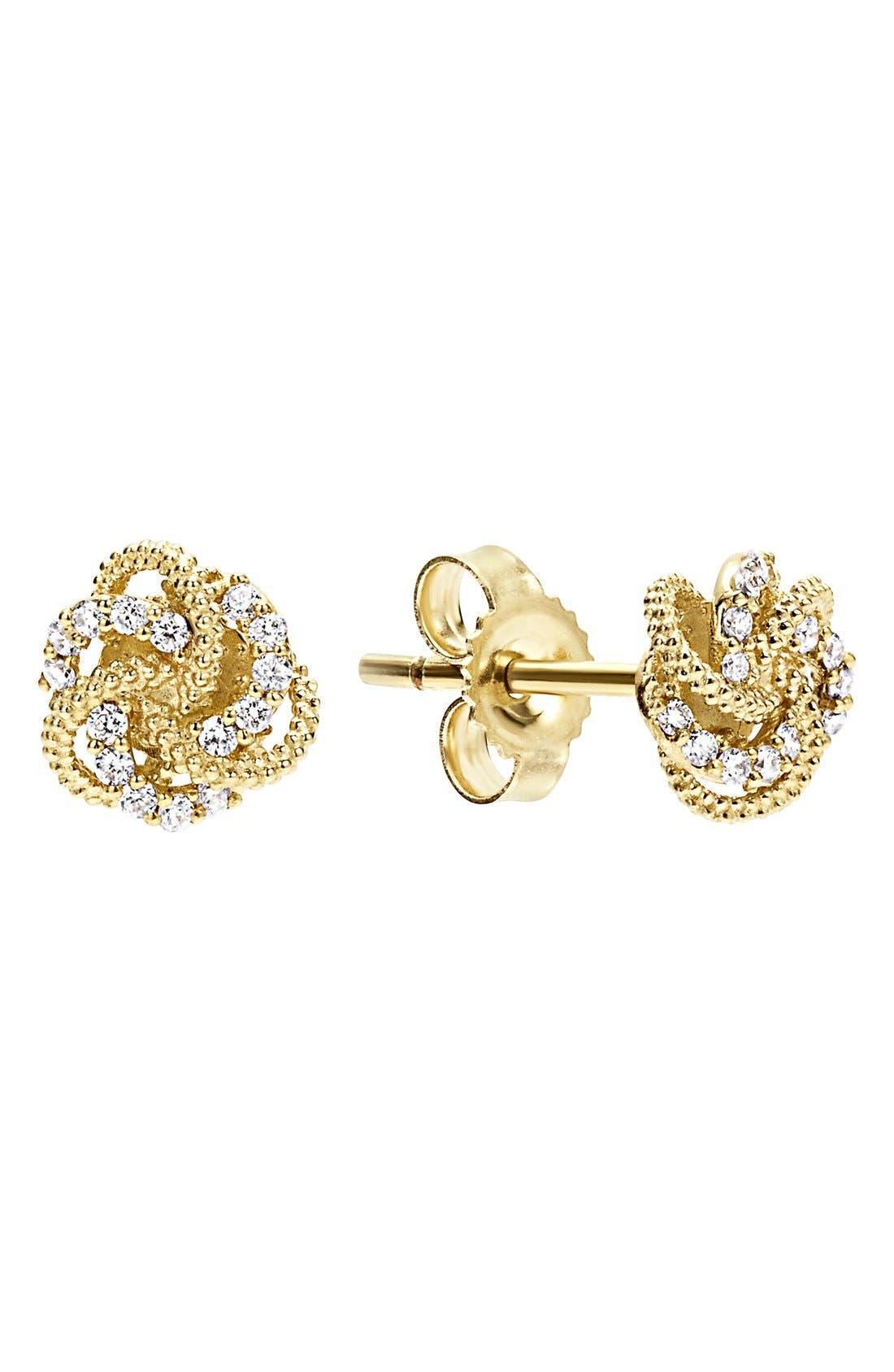 LAGOS Love Knot Stud Earrings