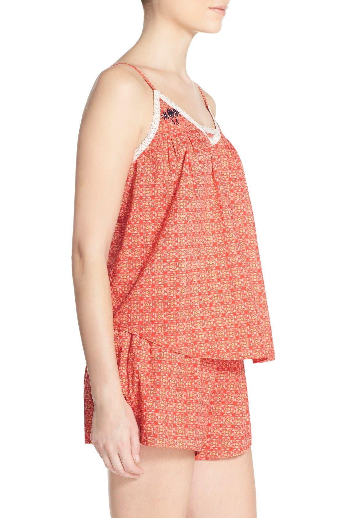 Alternate Image 3  - Lucky Brand Print Short Pajamas