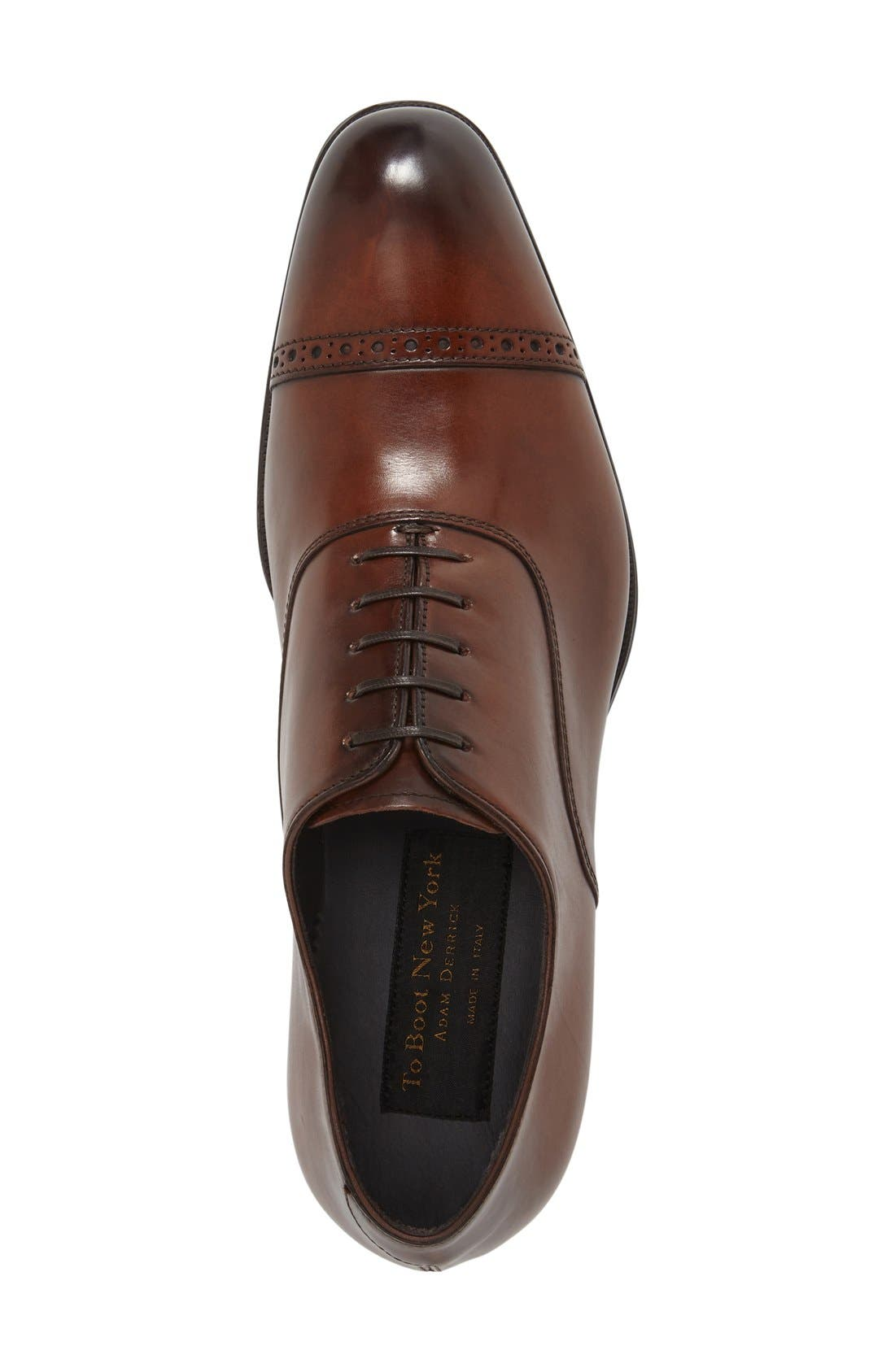 Alternate Image 3  - To Boot New York 'Derek' Cap Toe Oxford (Men)