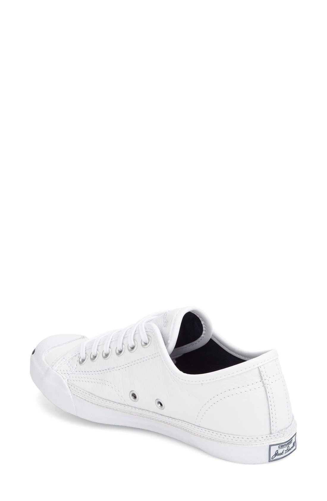 Alternate Image 2  - Converse 'Jack Purcell' Low Top Sneaker (Women)