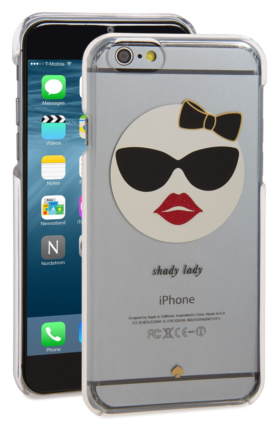 Main Image - kate spade new york 'shady lady' iPhone 6 & 6s case (Nordstrom Exclusive)