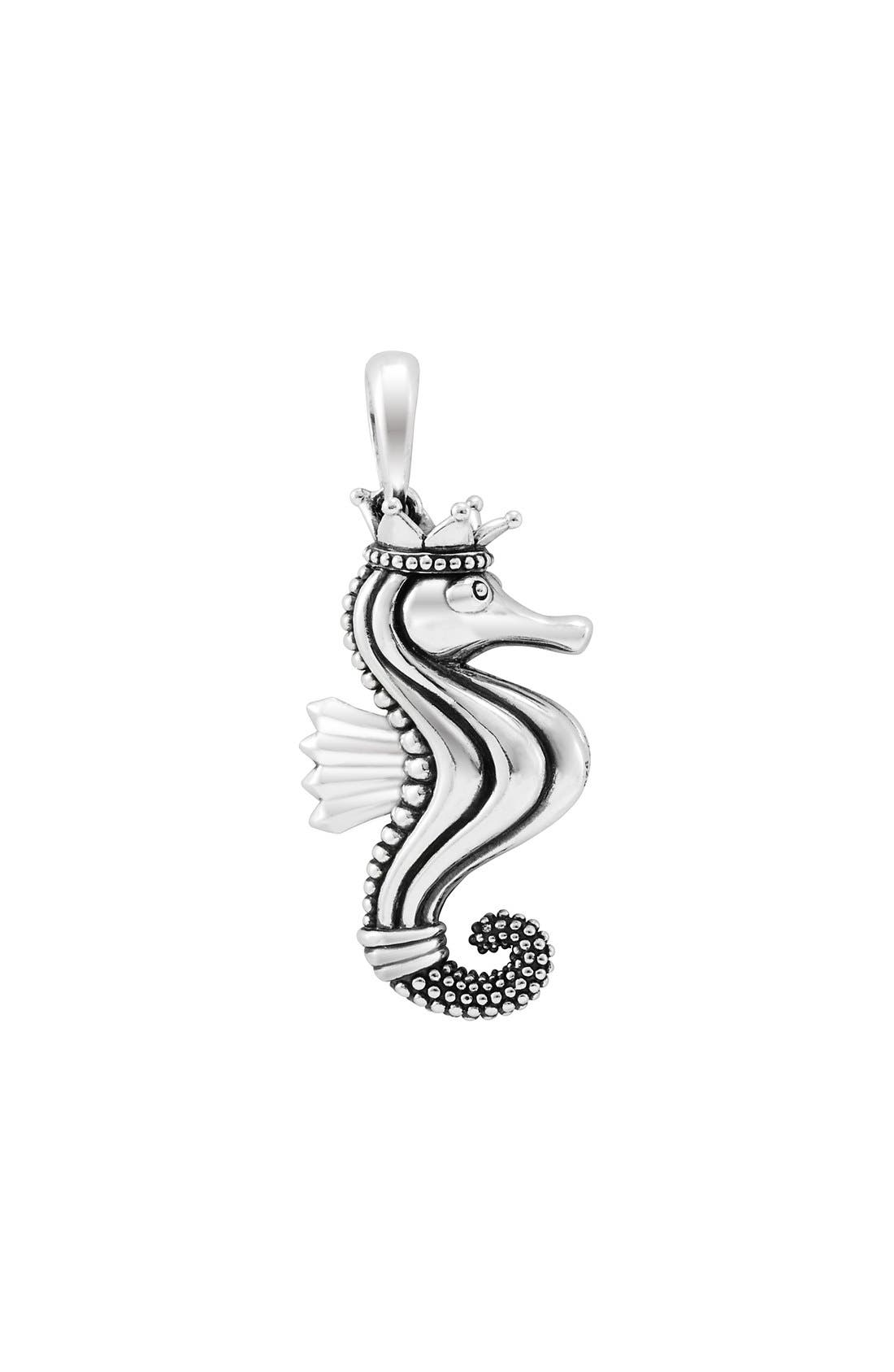 Alternate Image 3  - LAGOS 'Rare Wonders - Seahorse' Long Talisman Necklace