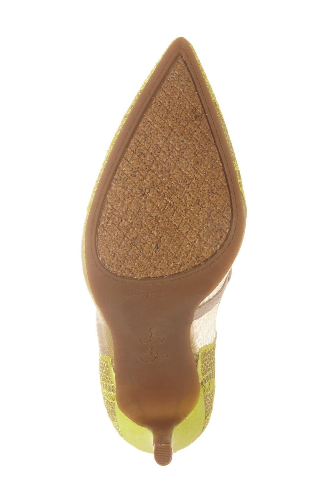 Alternate Image 4  - Jessica Simpson 'Camba' Pointy Toe Pump (Women)