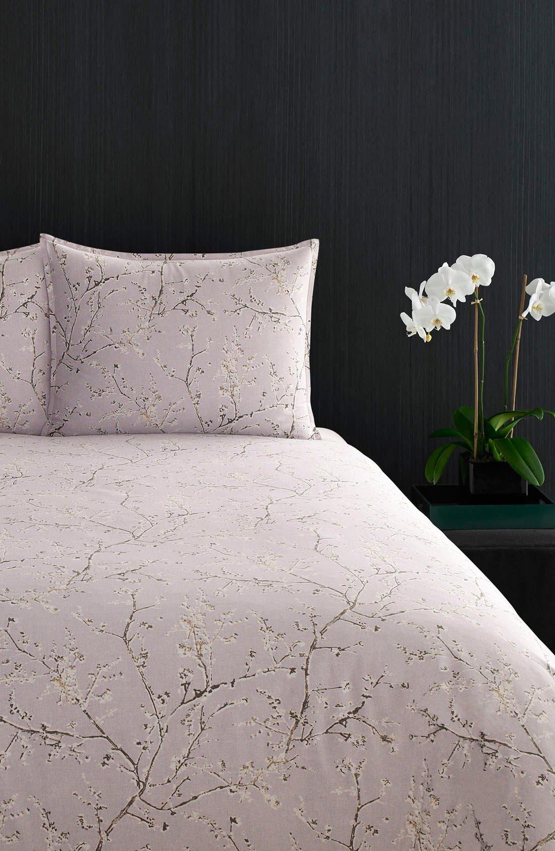 Alternate Image 1 Selected - Vera Wang 'Winter Blossoms' King Duvet Cover